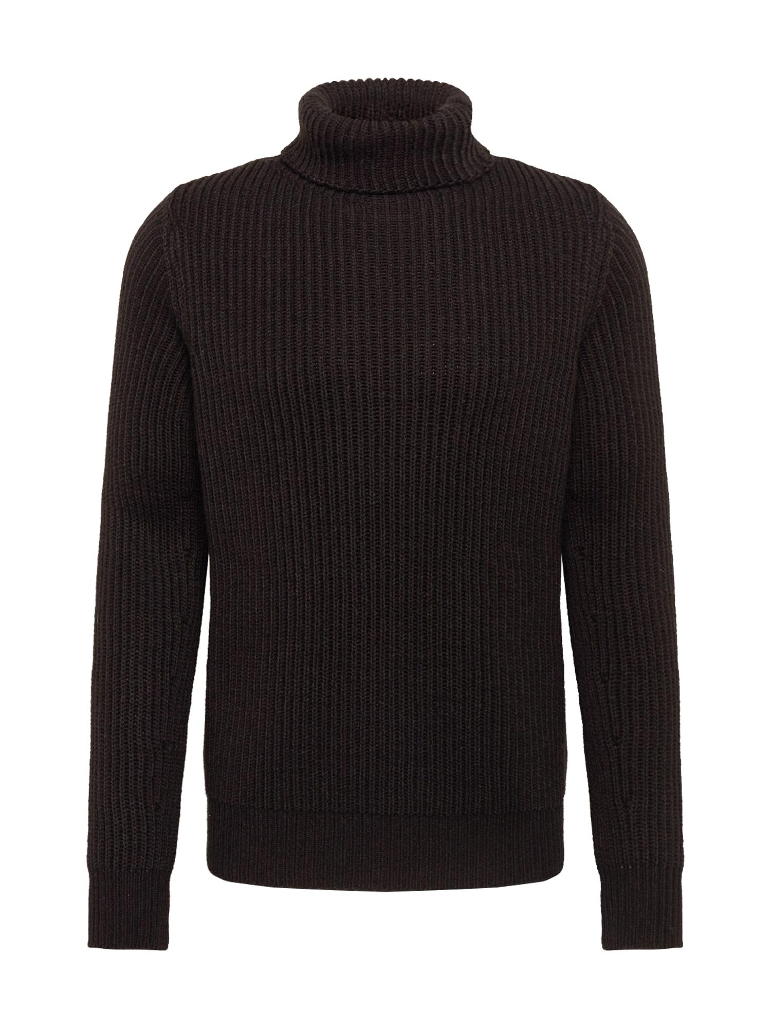 DRYKORN Megztinis 'WYATH' juoda