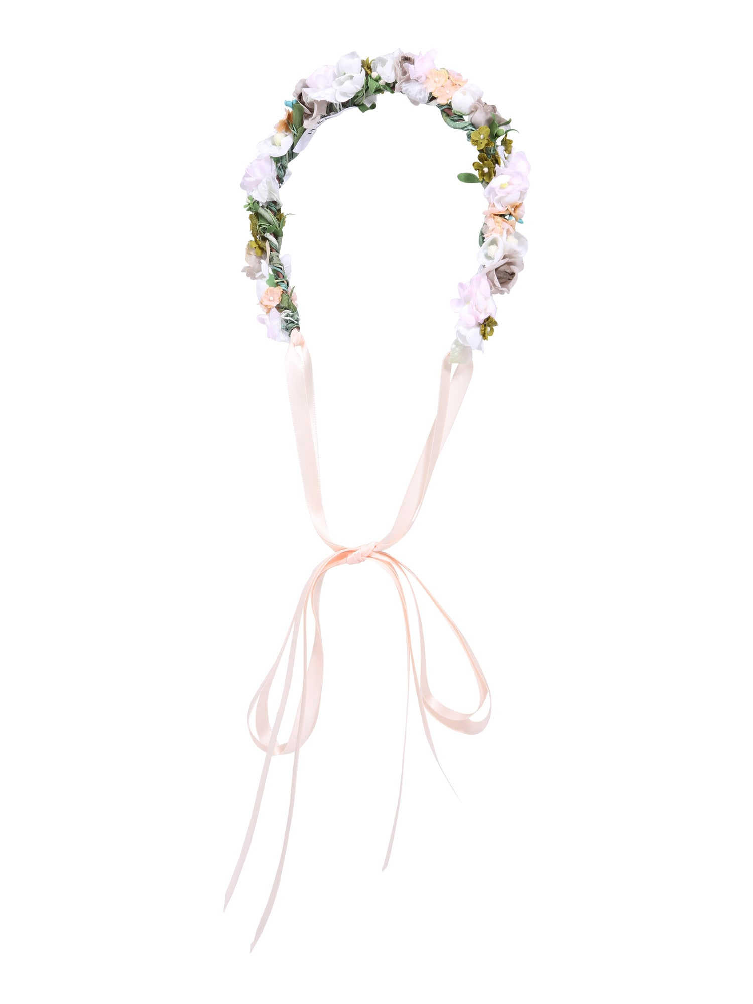 Šperky do vlasů Bridal Style zelená růžová bílá We Are Flowergirls