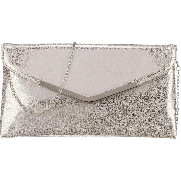 Clutches für Frauen - L.CREDI Abendtasche 'Macau' silber  - Onlineshop ABOUT YOU