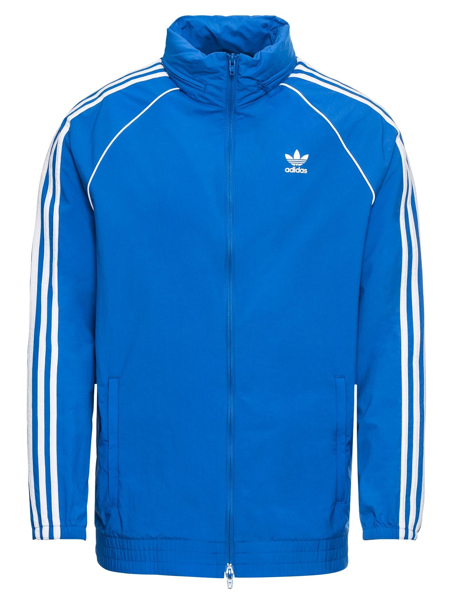 Přechodná bunda SST WINDBREAKER modrá bílá ADIDAS ORIGINALS