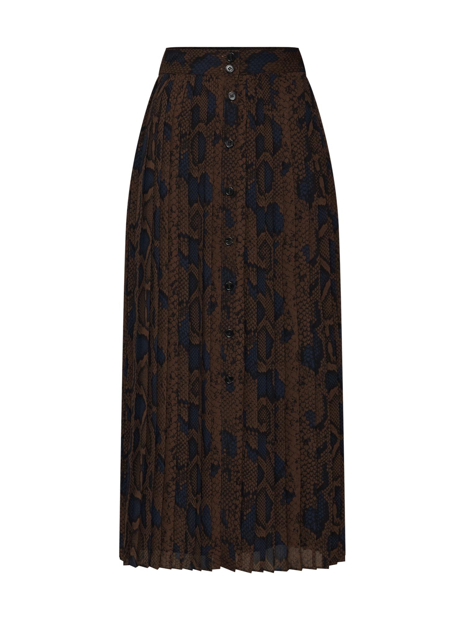 EDITED Sijonas 'Remo' ruda / mišrios spalvos