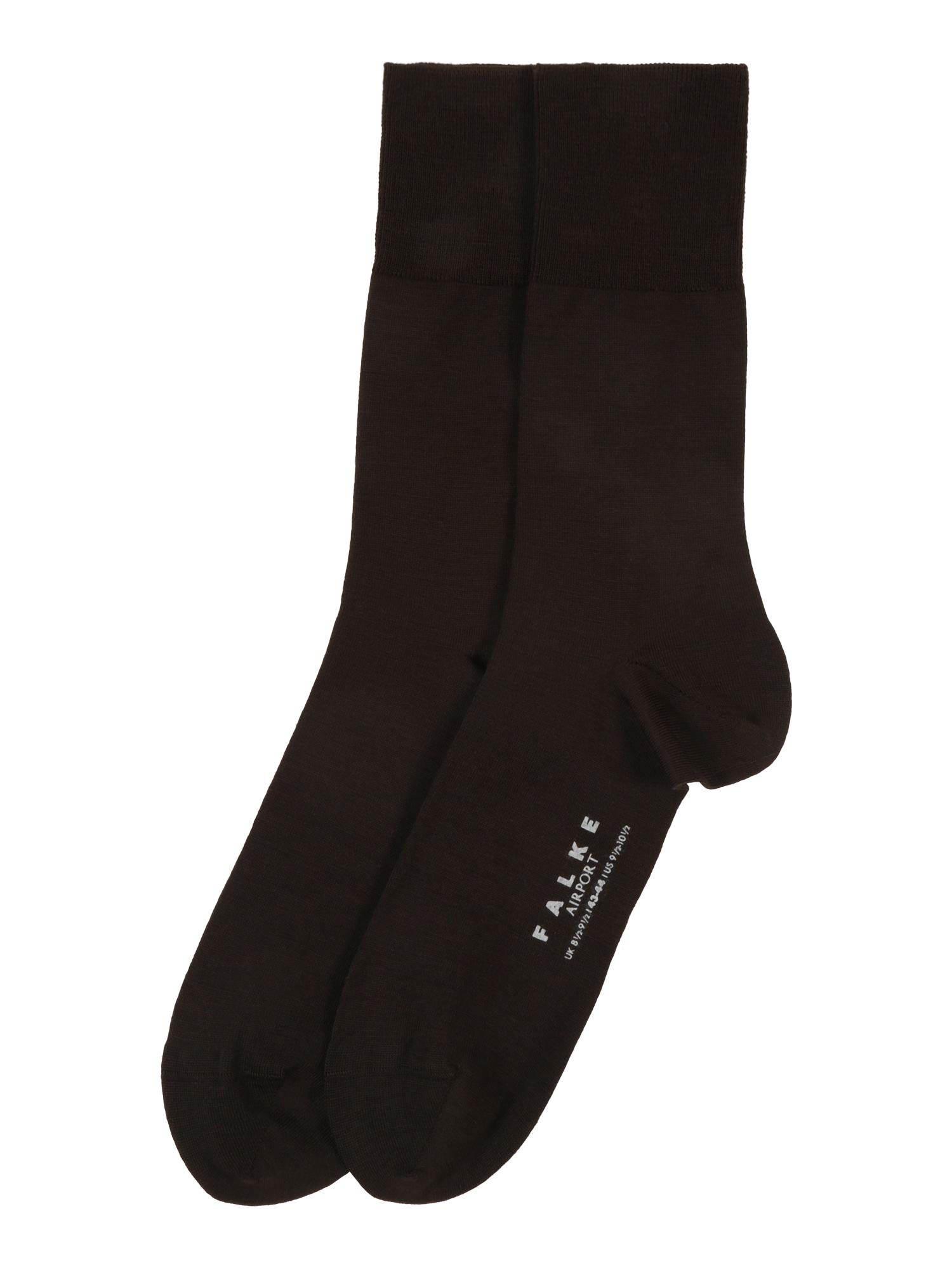 Ponožky Airport tmavě hnědá FALKE