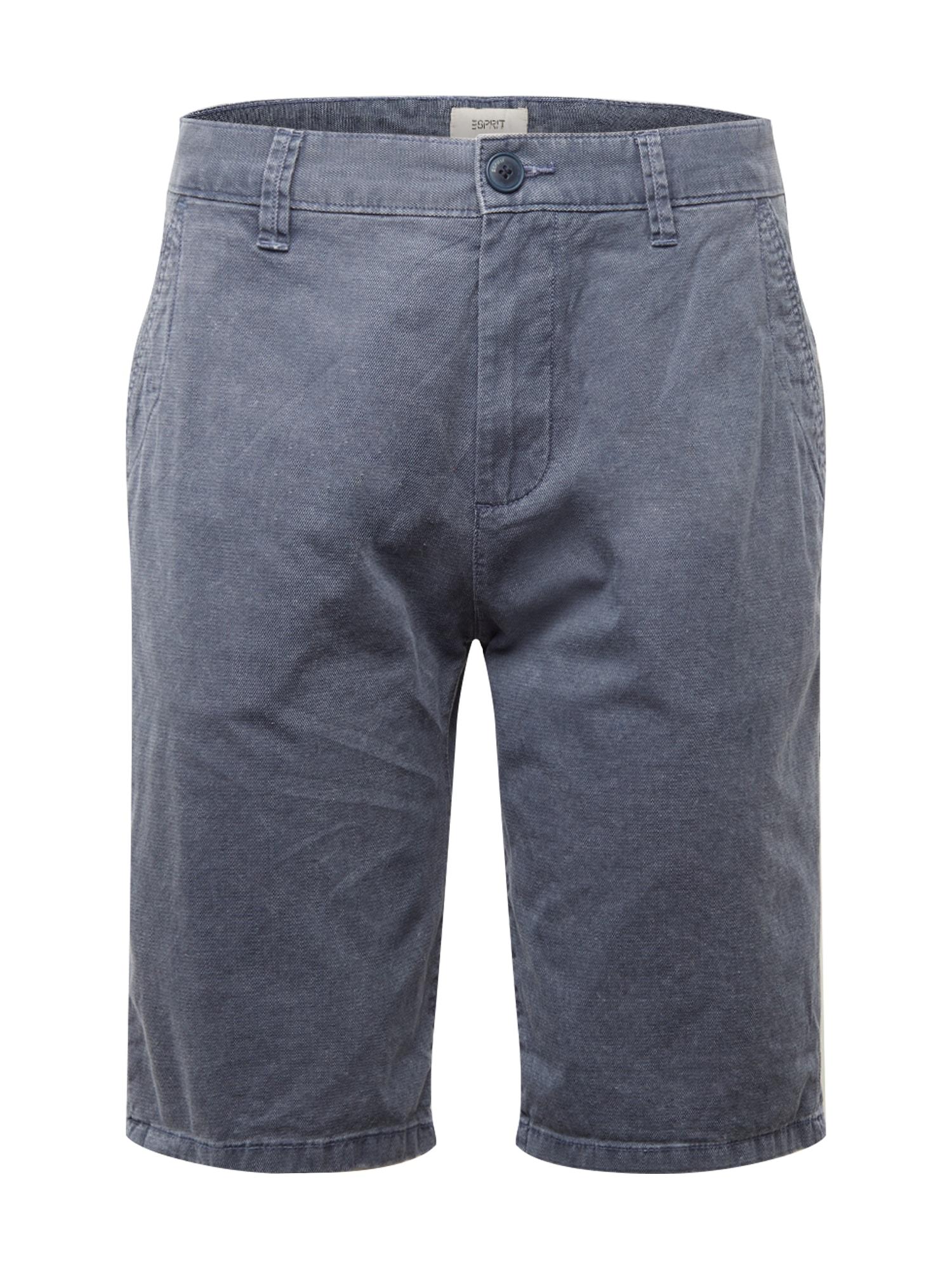 ESPRIT Chino stiliaus kelnės 'SG-040EE2C309' tamsiai mėlyna