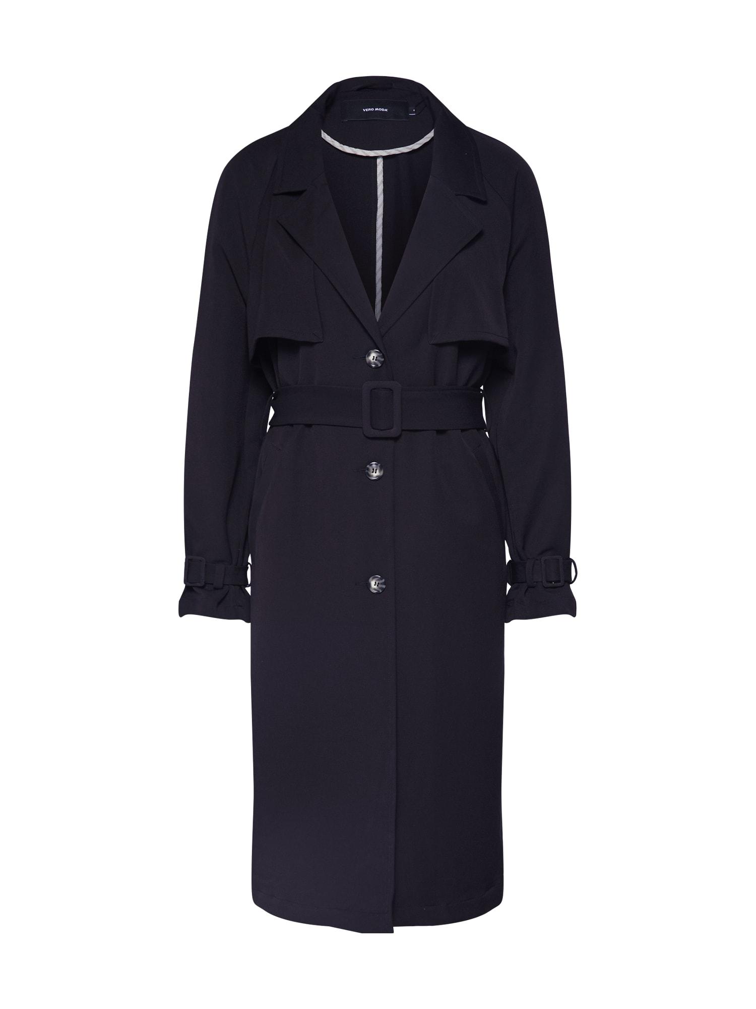 VERO MODA Letný kabát 'DONNA'  čierna