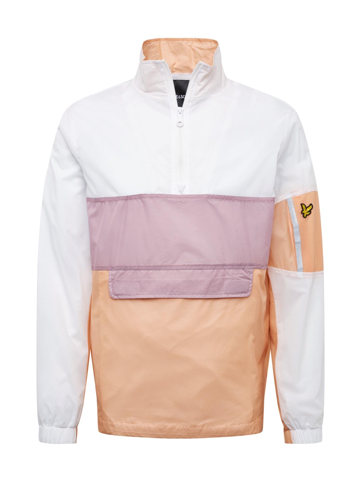 Přechodná bunda Overhead Jacket béžová bílá Lyle & Scott