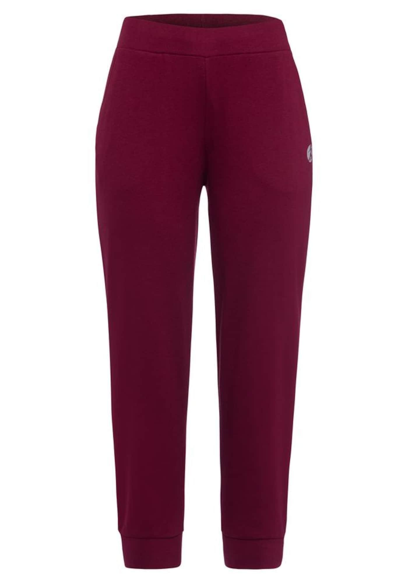 LASCANA ACTIVE Sportinės kelnės rubinų raudona