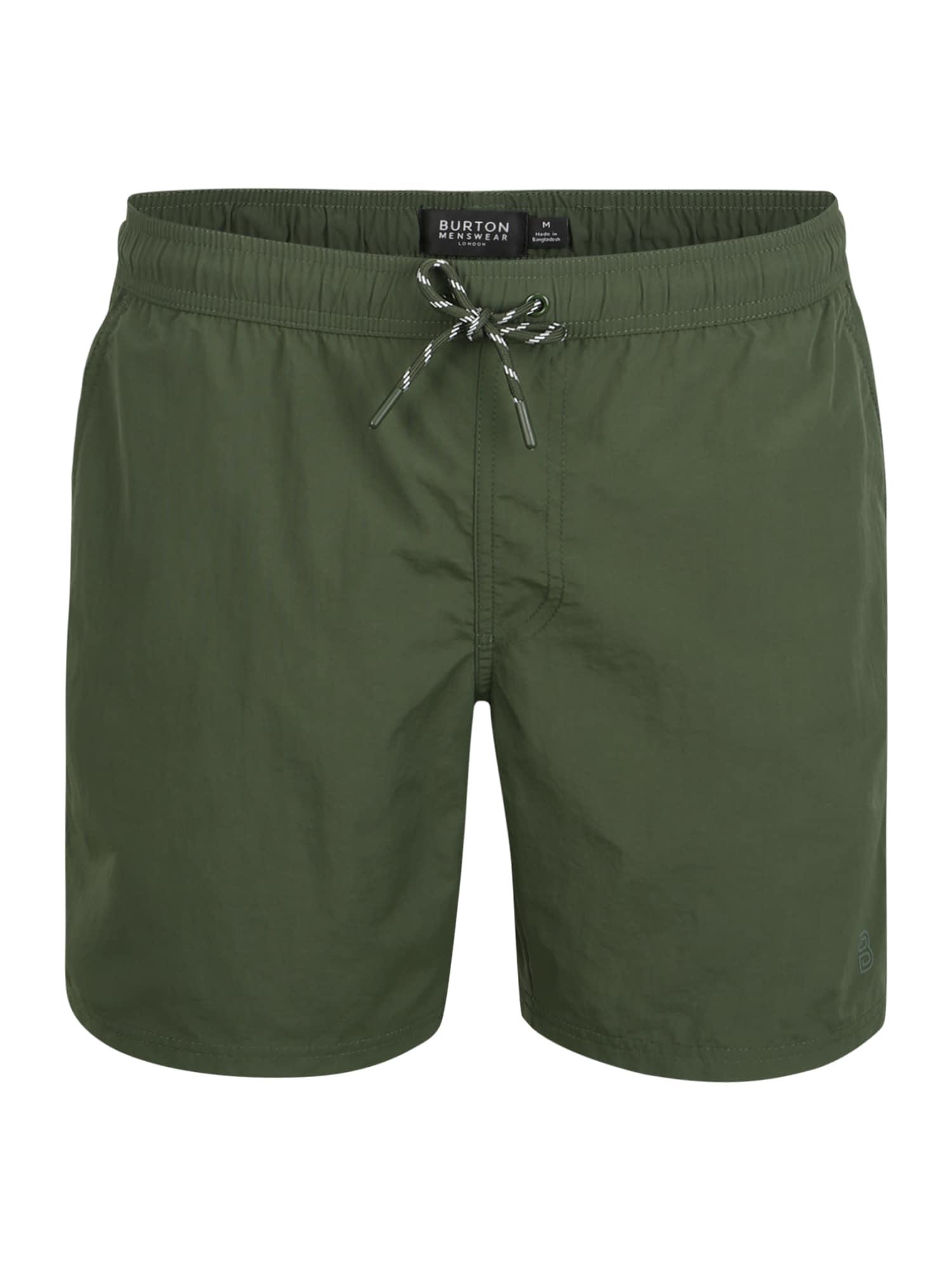Badeshorts 'CORE CROC GREEN SWIM' | Bekleidung > Bademode > Badeshorts | BURTON MENSWEAR LONDON
