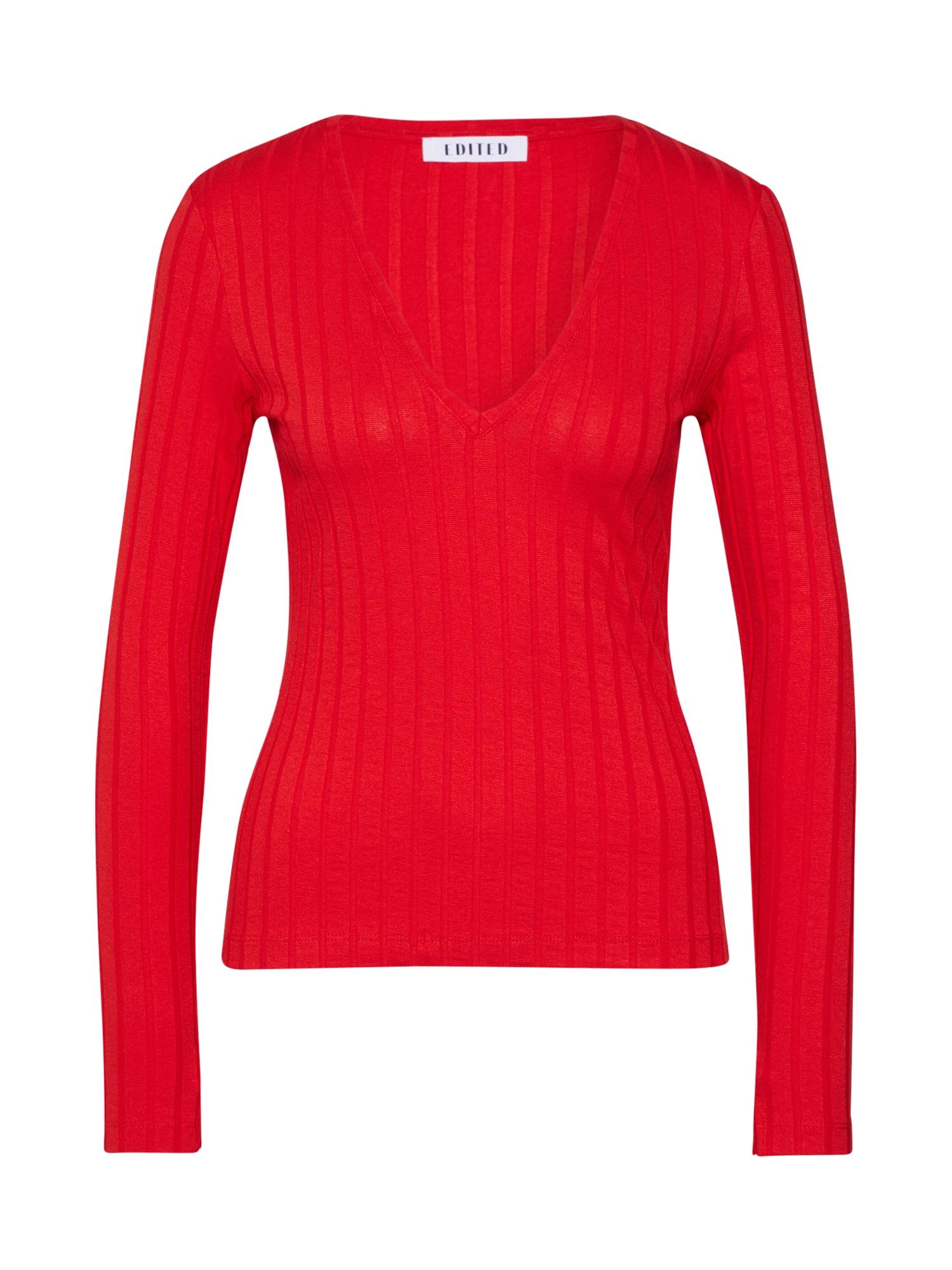 EDITED Marškinėliai 'Elin' raudona