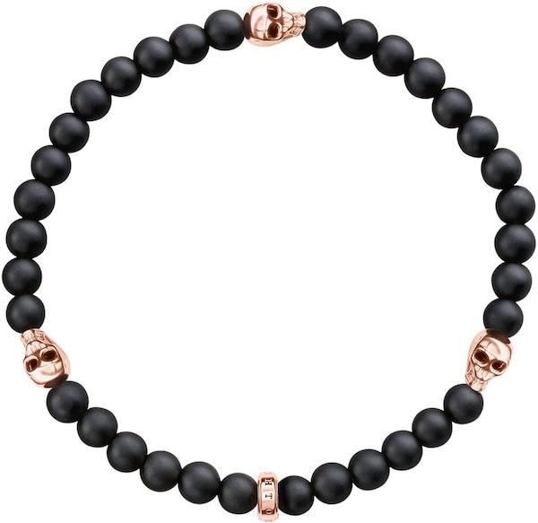 Armbaender für Frauen - Thomas Sabo Armband 'A1508 444 11' rosegold schwarz  - Onlineshop ABOUT YOU