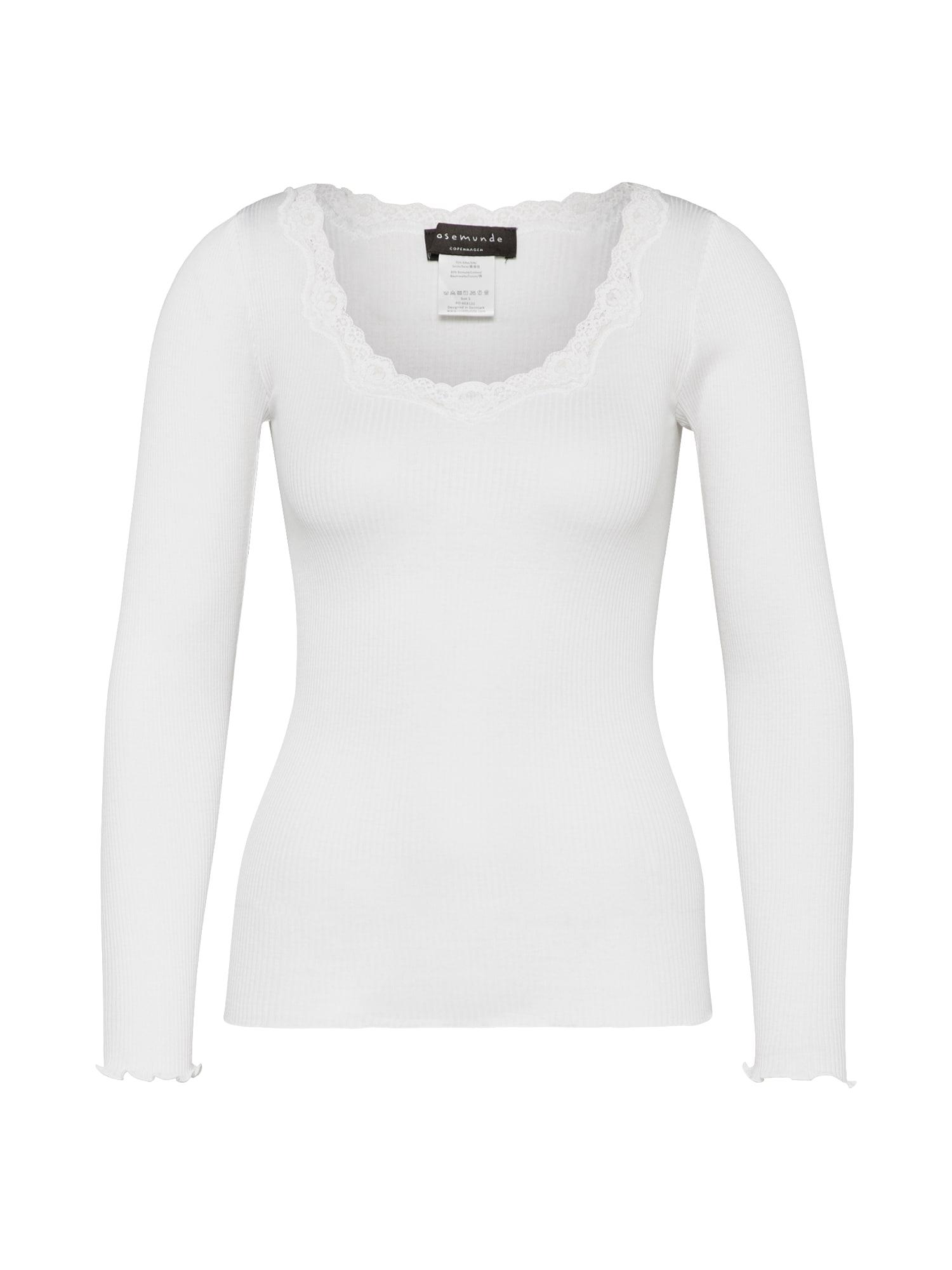 rosemunde Marškinėliai balta
