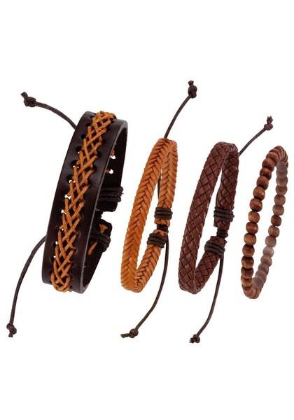 Armbaender für Frauen - J. Jayz Armband '139 809' braun kastanienbraun bronze  - Onlineshop ABOUT YOU