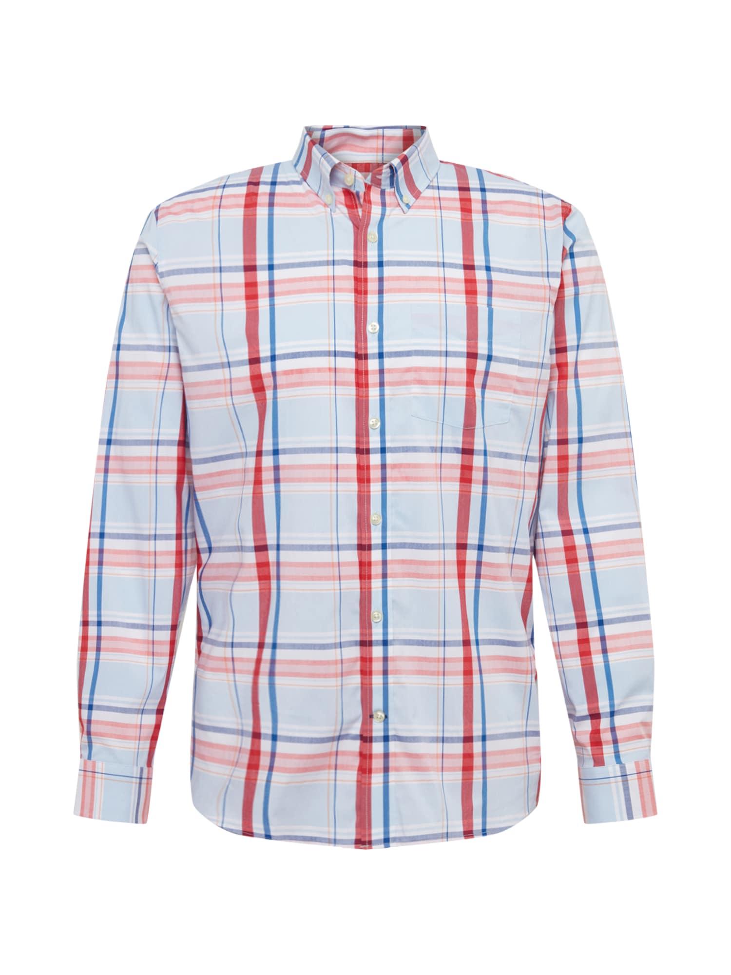 GAP Dalykiniai marškiniai mėlyna / raudona