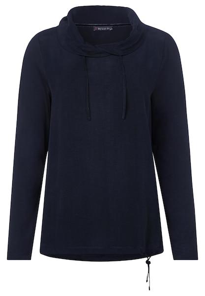 Oberteile für Frauen - Shirt › STREET ONE › blau dunkelblau  - Onlineshop ABOUT YOU