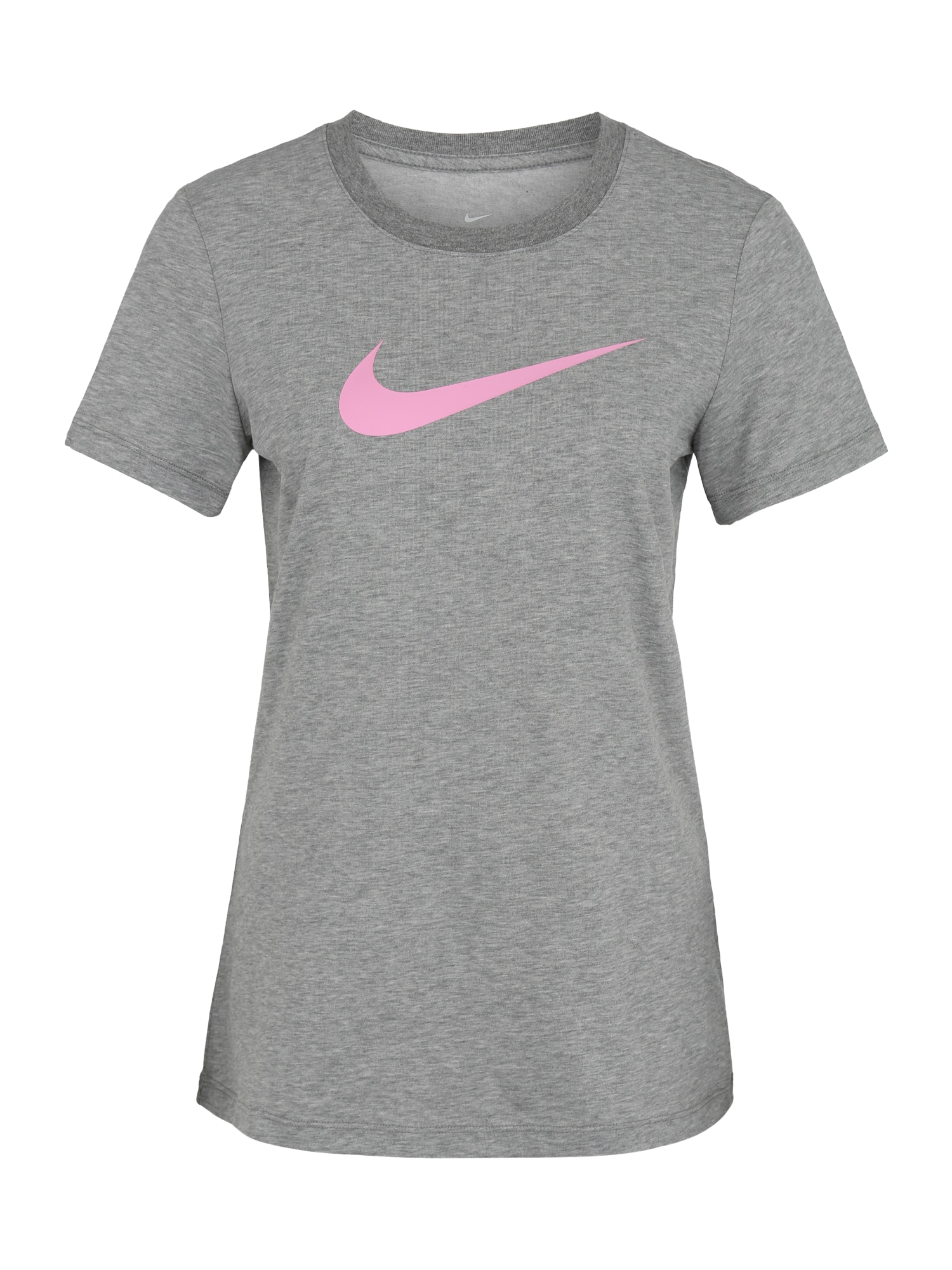 NIKE Sportiniai marškinėliai rožių spalva / pilka