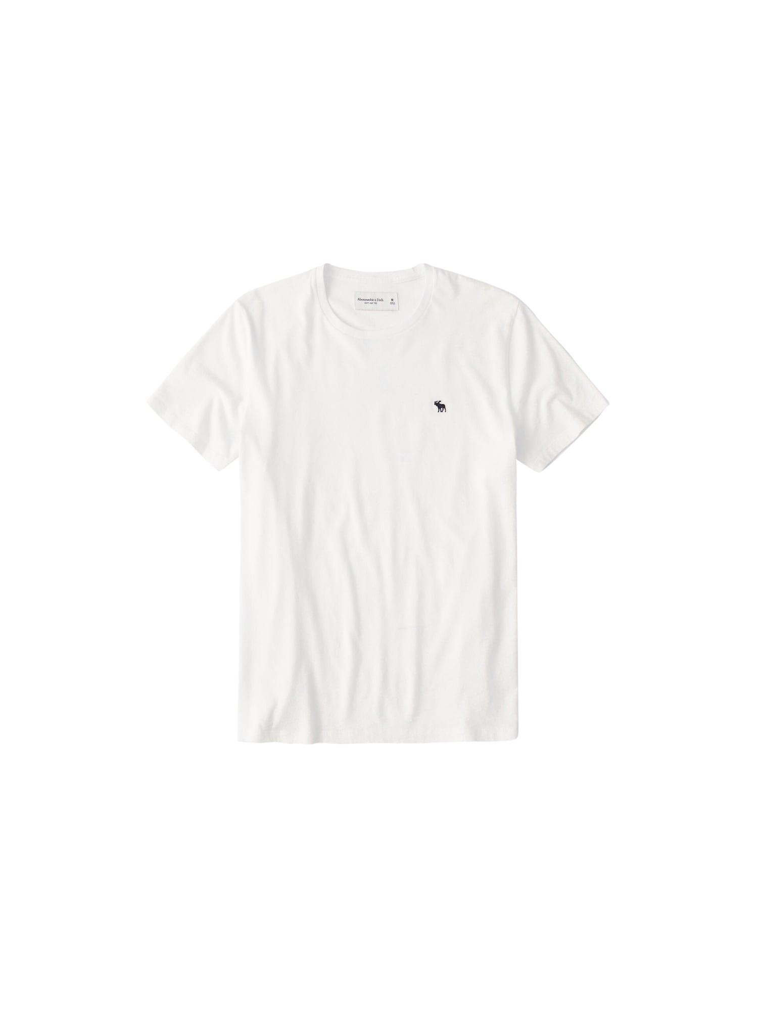 Abercrombie & Fitch Marškinėliai balta