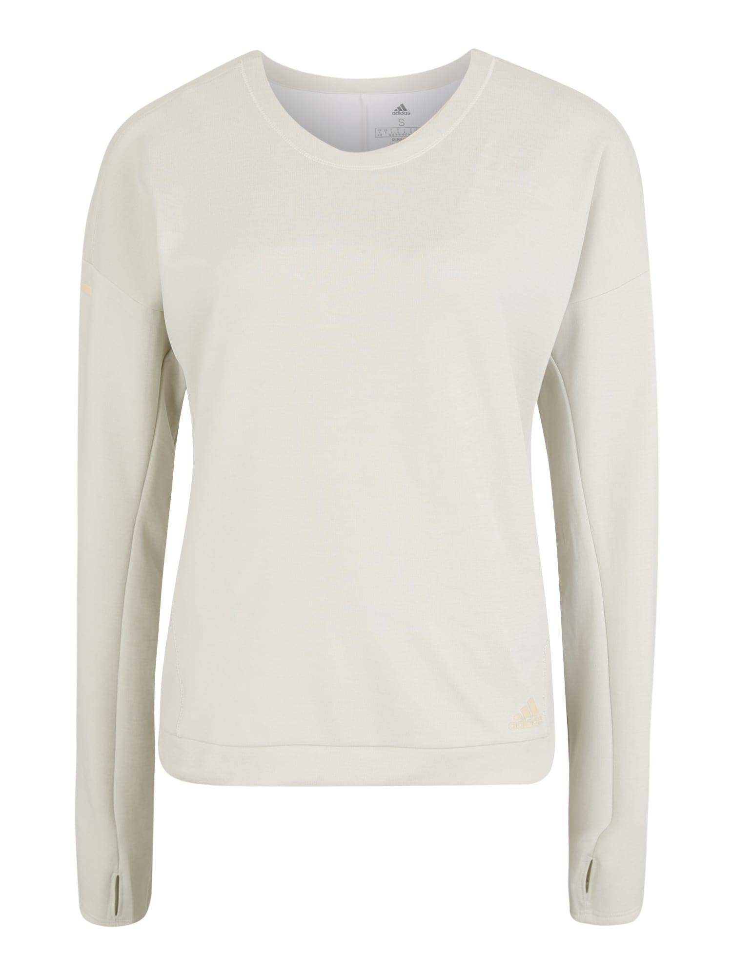 Shirt 'SN RUN CRU W' | Sportbekleidung > Sportshirts | adidas performance
