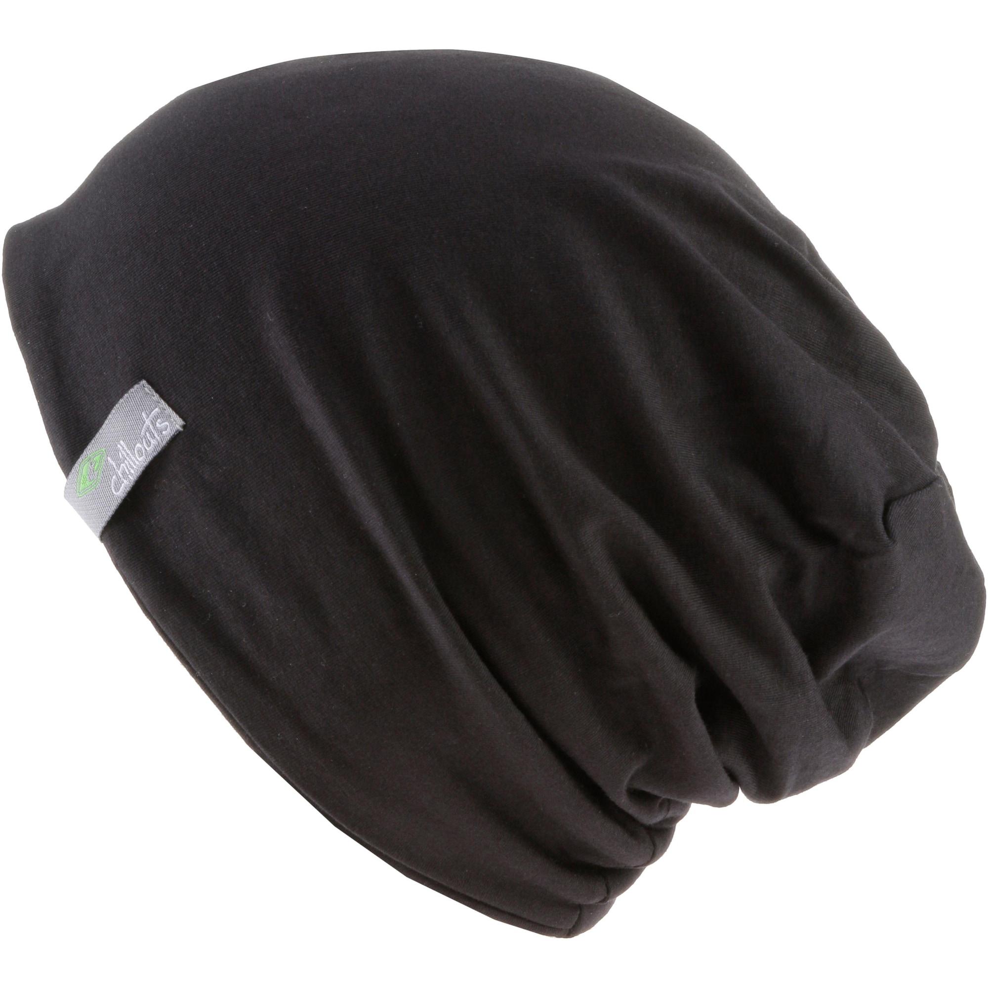 chillouts Megzta kepurė 'Acapulco' juoda