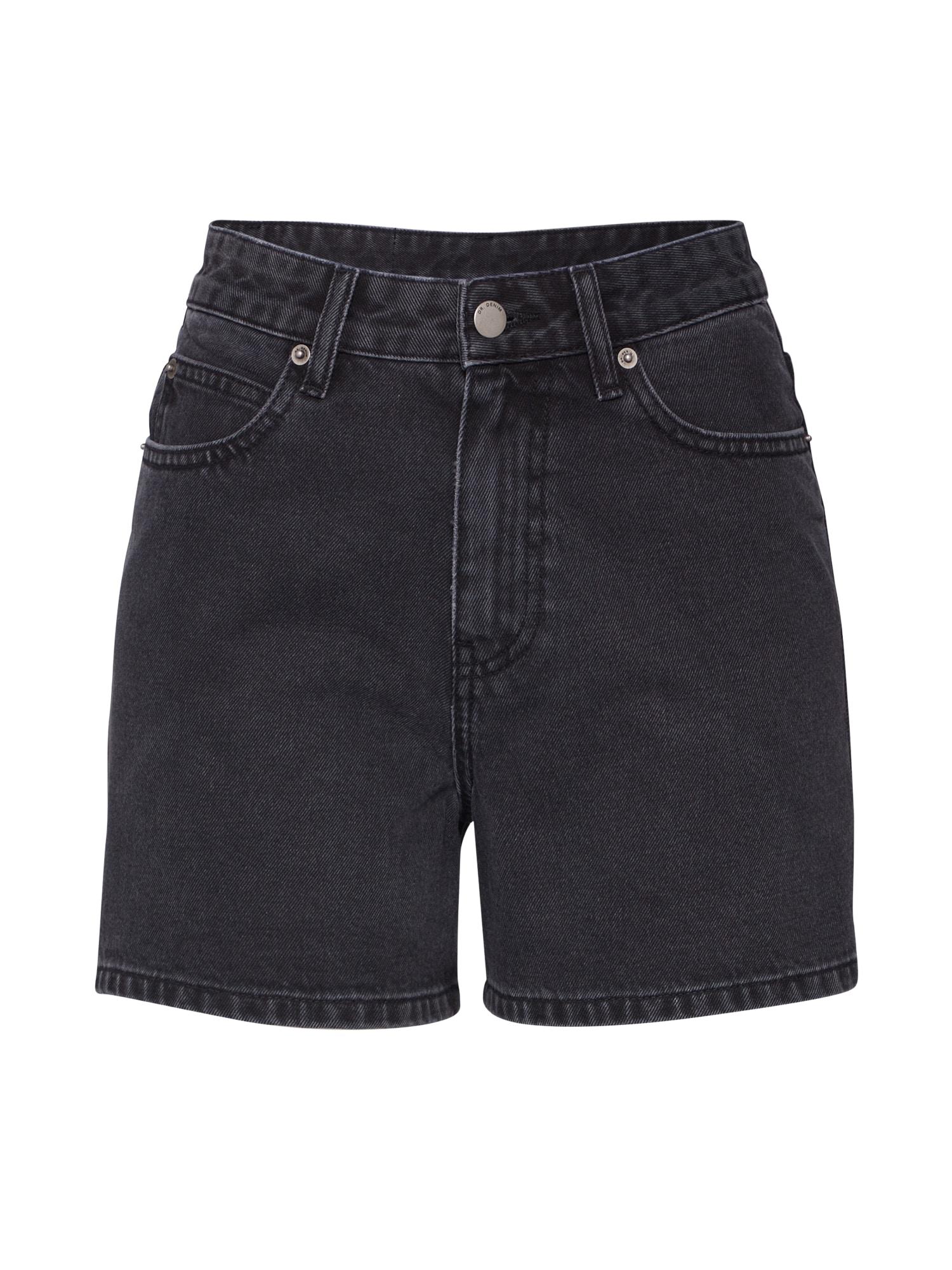 Dr. Denim Džinsai 'Jenn' juodo džinso spalva