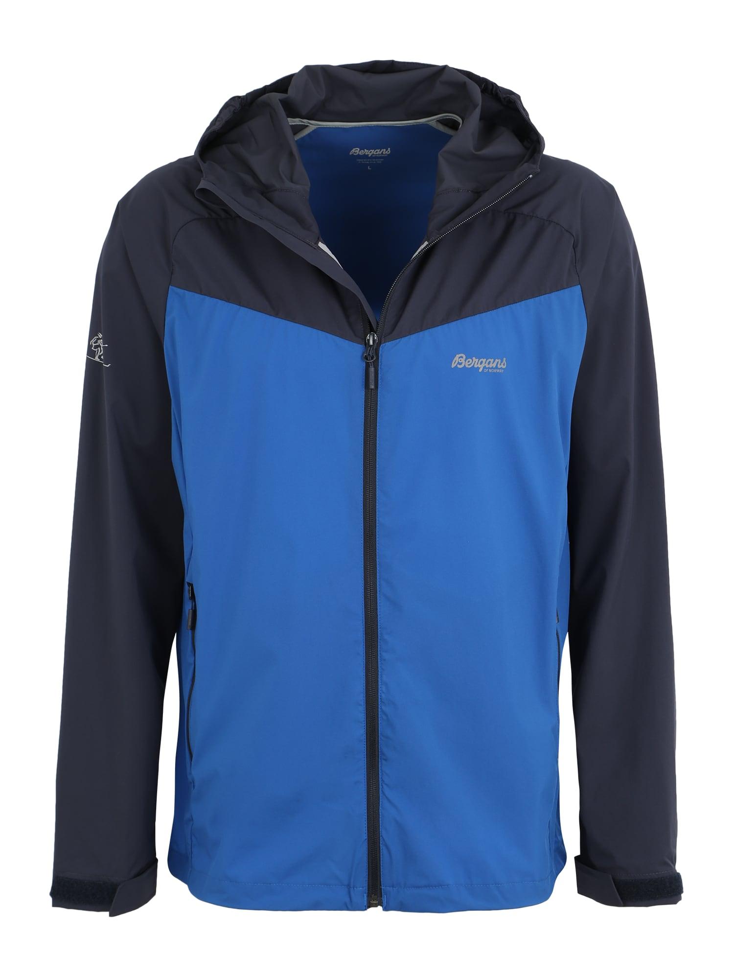 Sportovní bunda Microlight modrá tmavě modrá Bergans