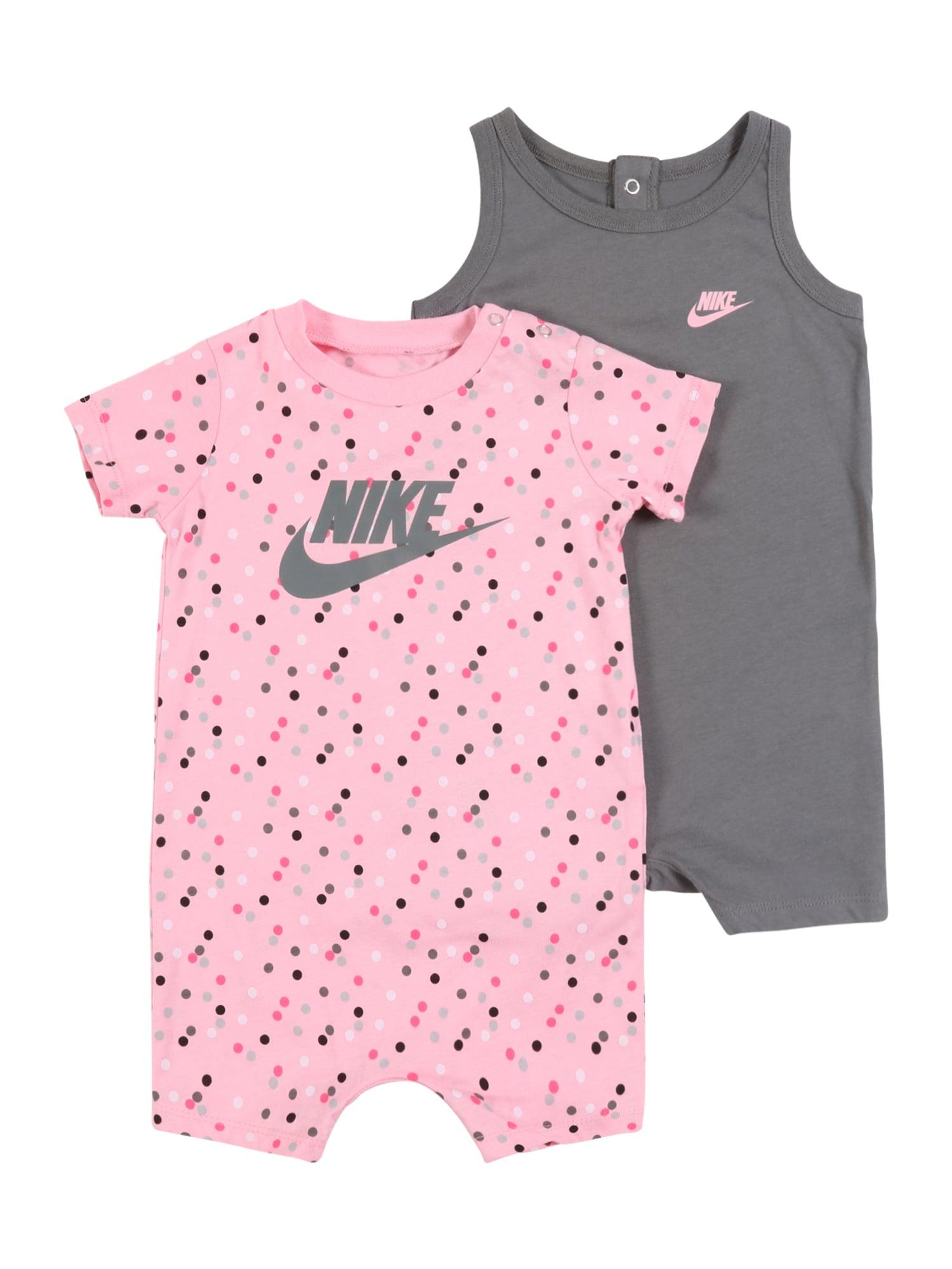 Nike Sportswear Šliaužtinukas / glaustinukė rožių spalva / pilka