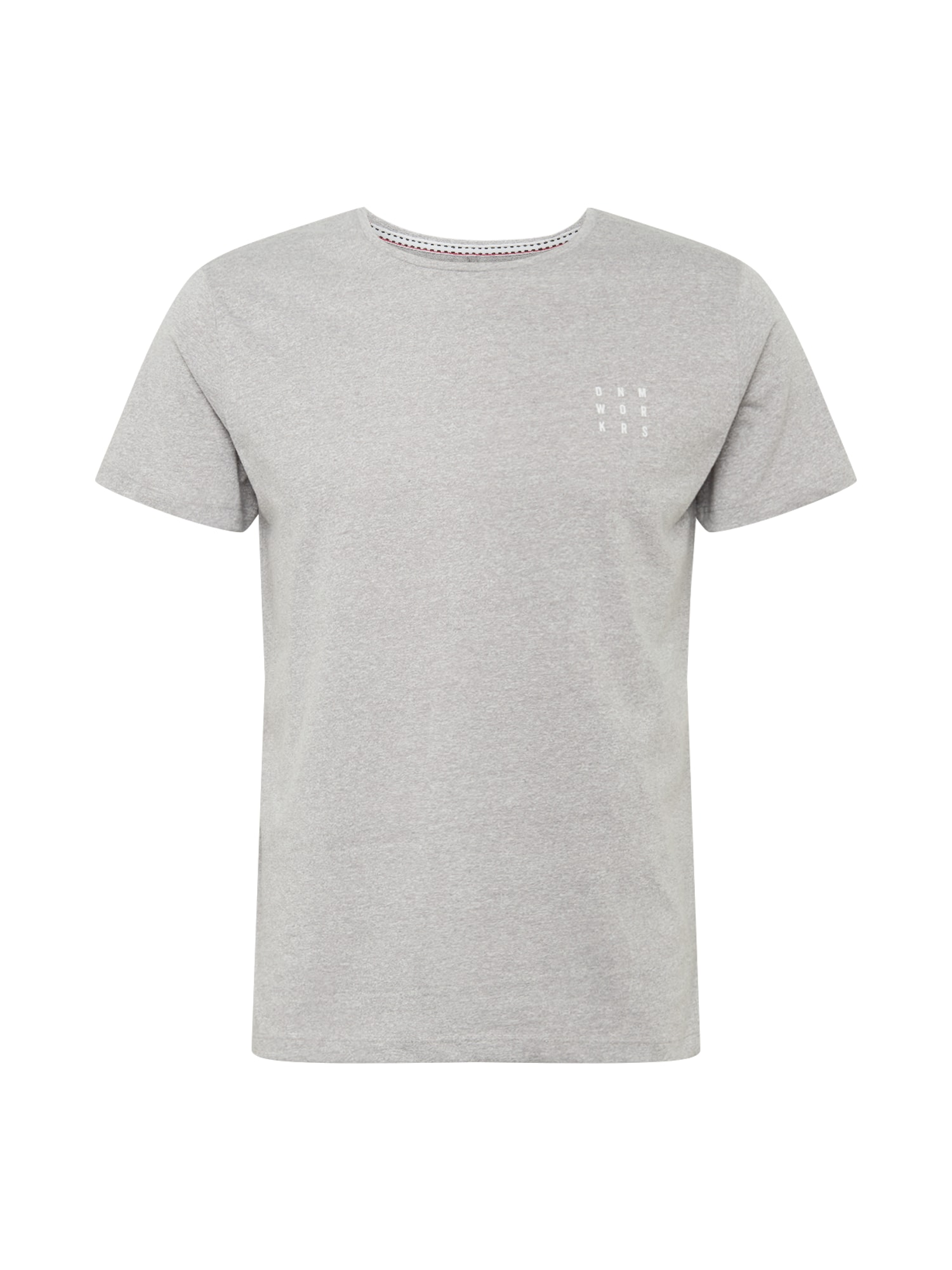BLEND Marškinėliai margai pilka