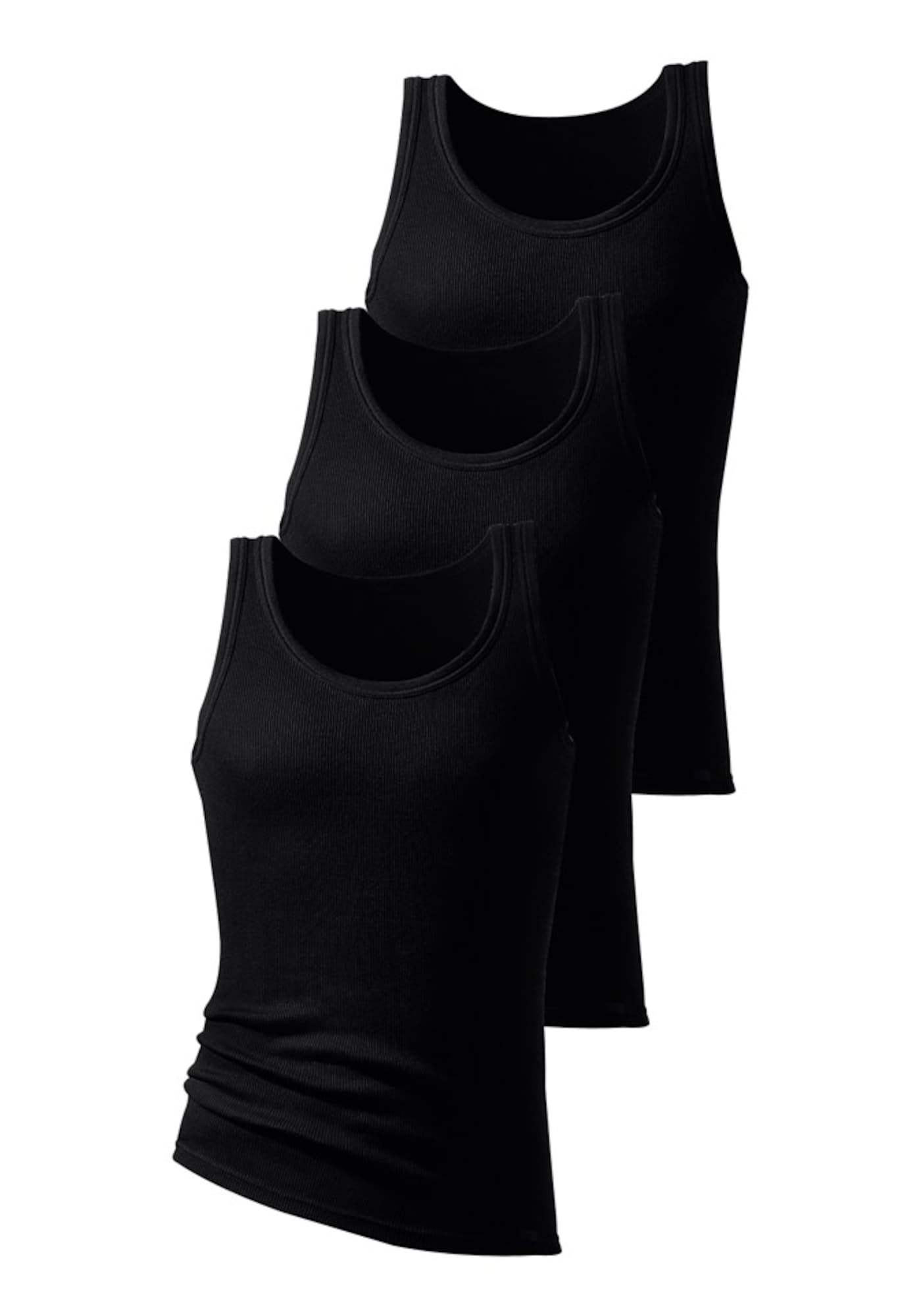 H.I.S Apatiniai marškinėliai juoda