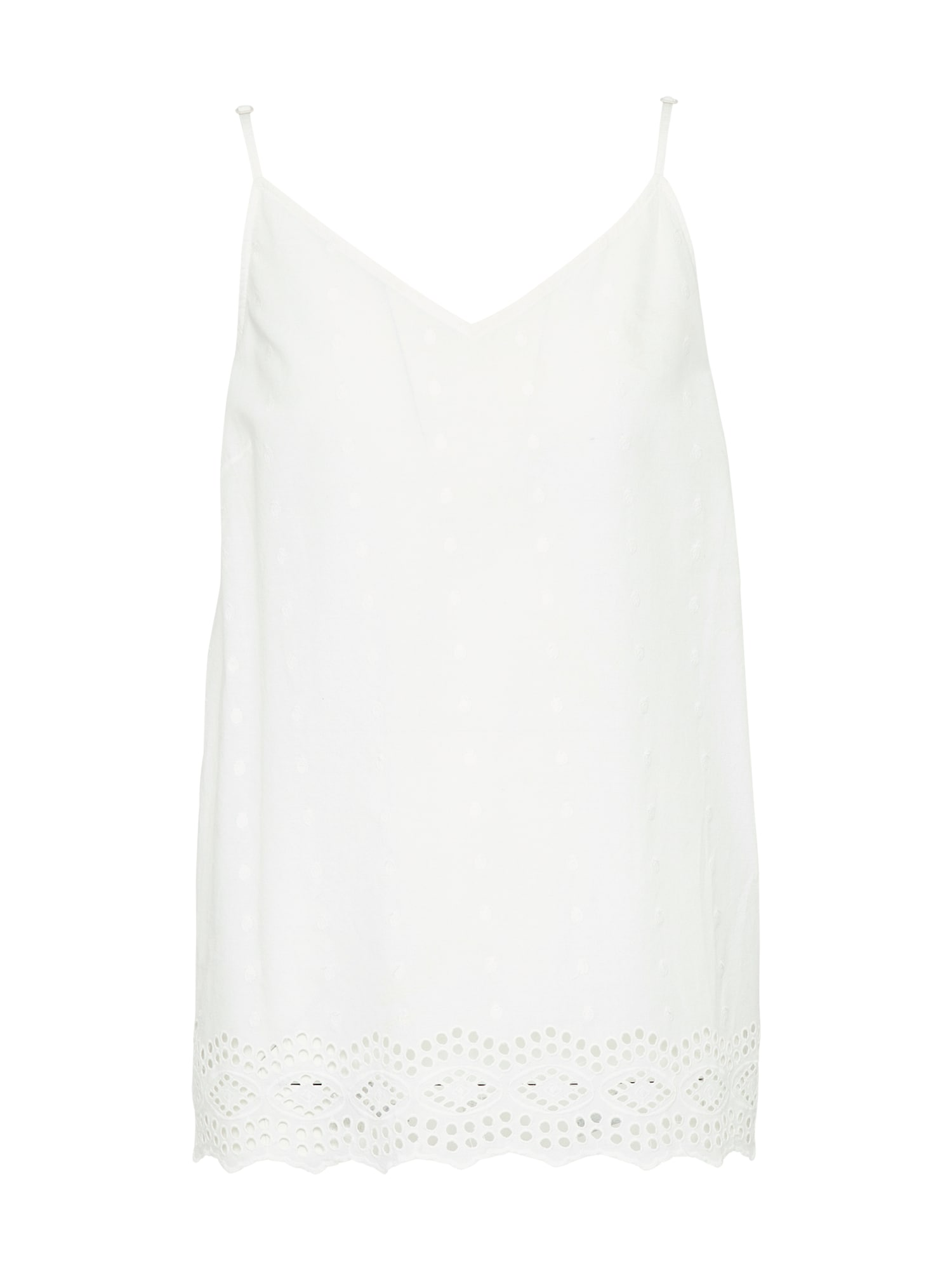 Top ZABEL SLIP offwhite PIECES