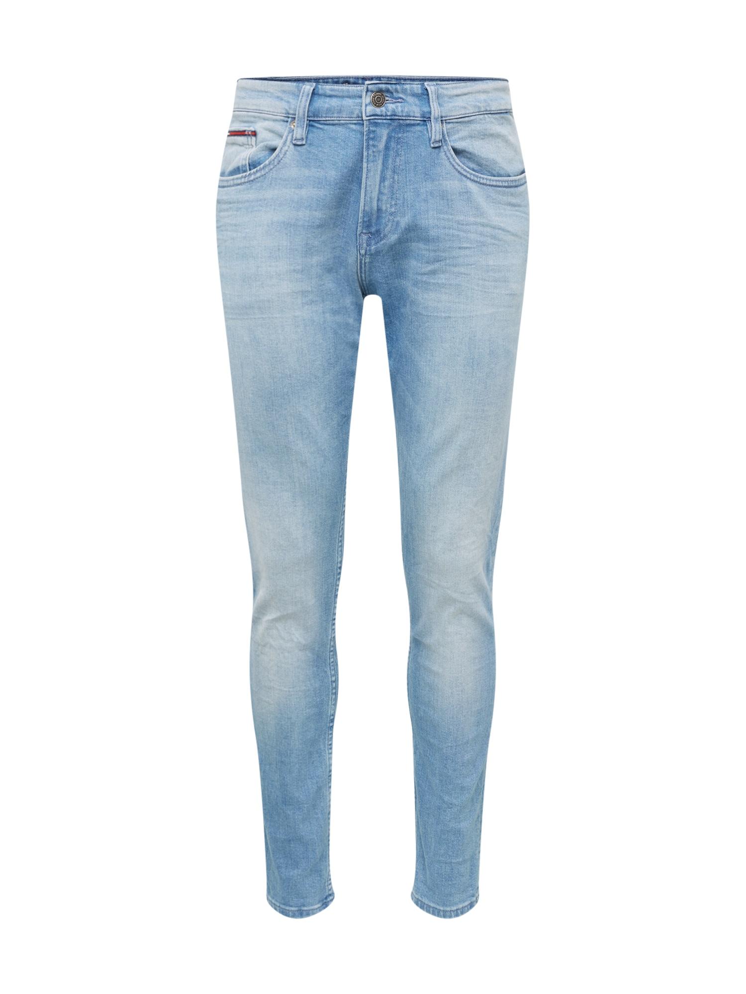 Tommy Jeans Džinsai 'STEVE BELB' tamsiai (džinso) mėlyna