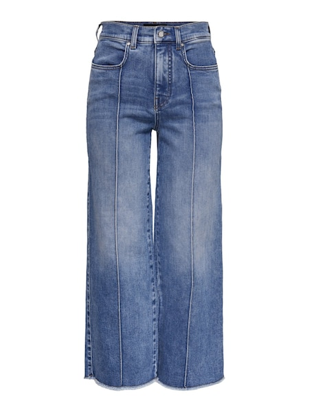 Hosen - Cropped Straight Fit Jeans › Only › blue denim  - Onlineshop ABOUT YOU