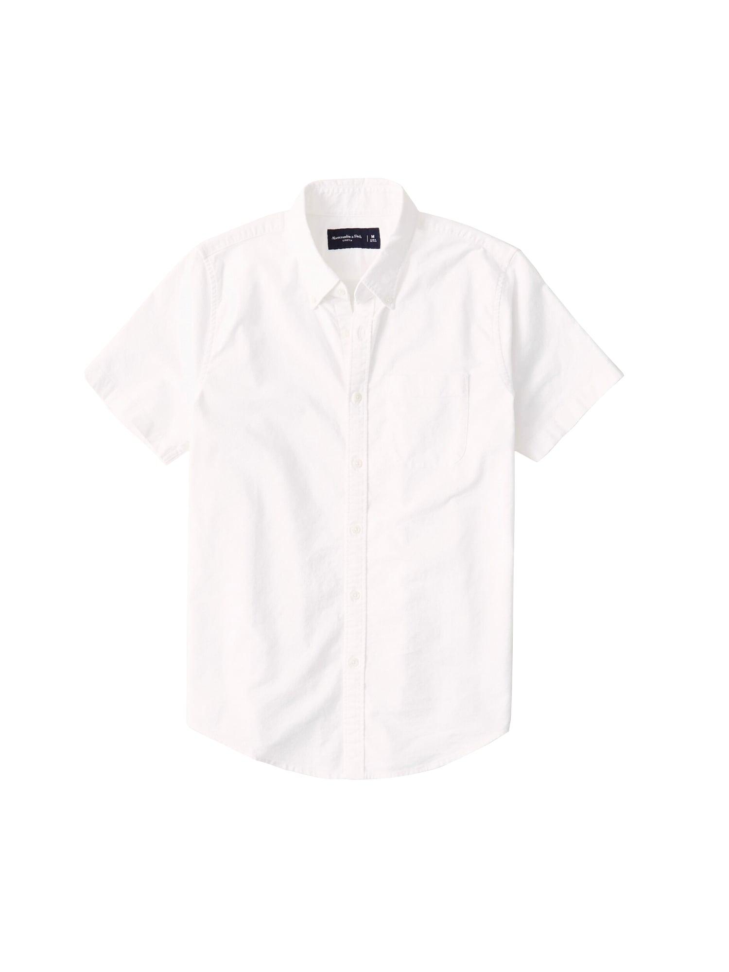 Abercrombie & Fitch Dalykiniai marškiniai balta