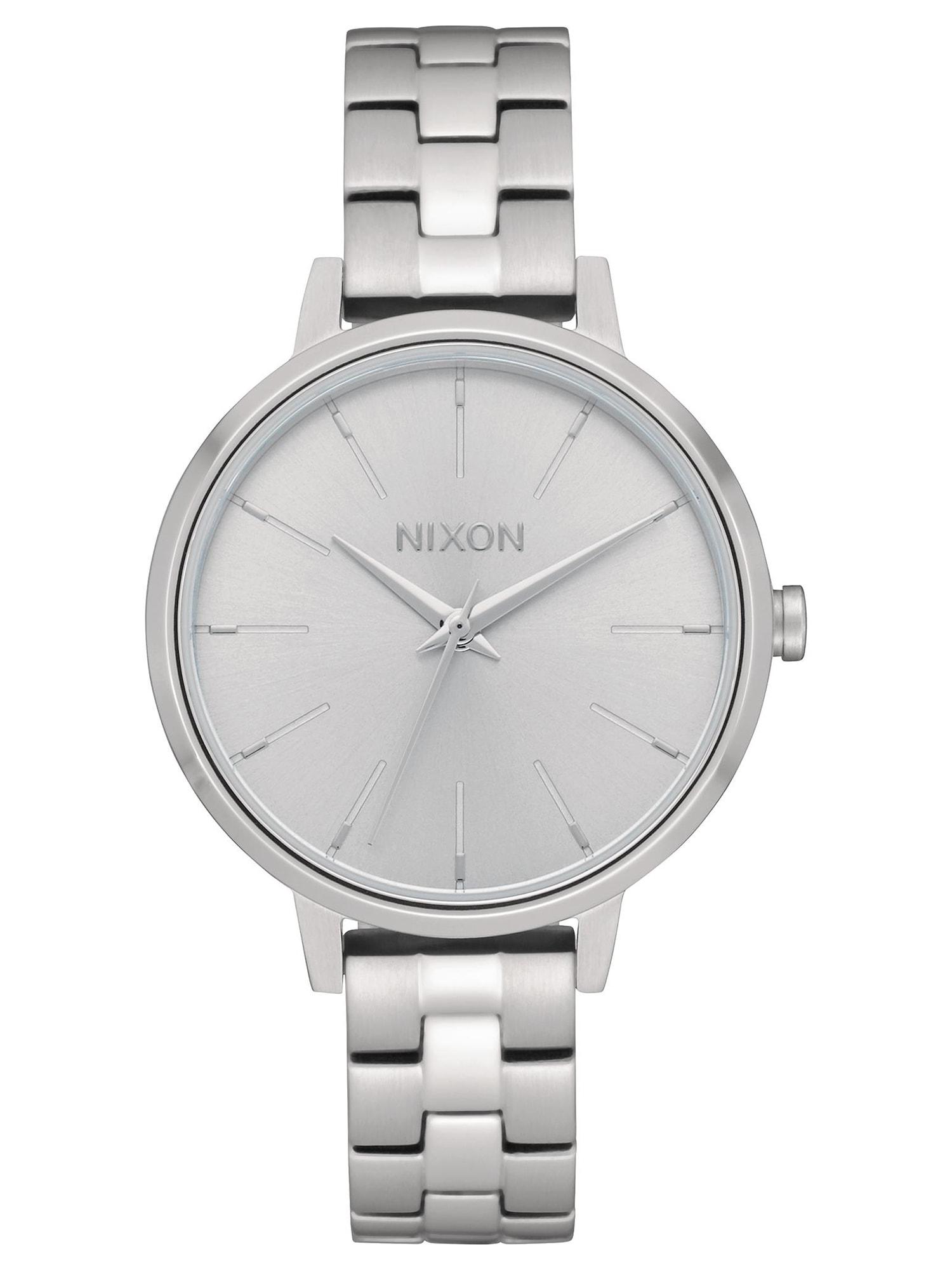 Analogové hodinky Medium Kensington stříbrná Nixon