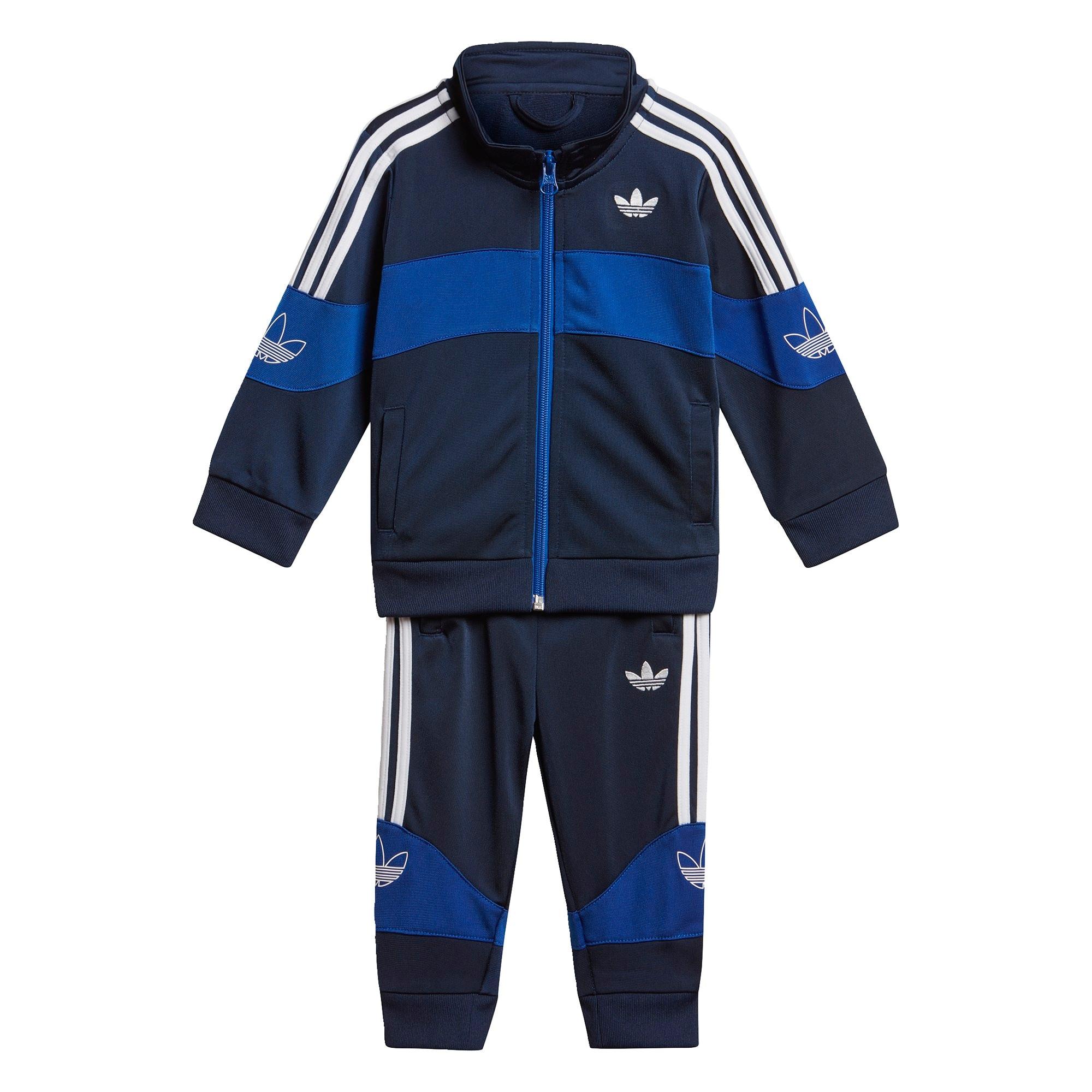 ADIDAS ORIGINALS Treniruočių kostiumas tamsiai mėlyna