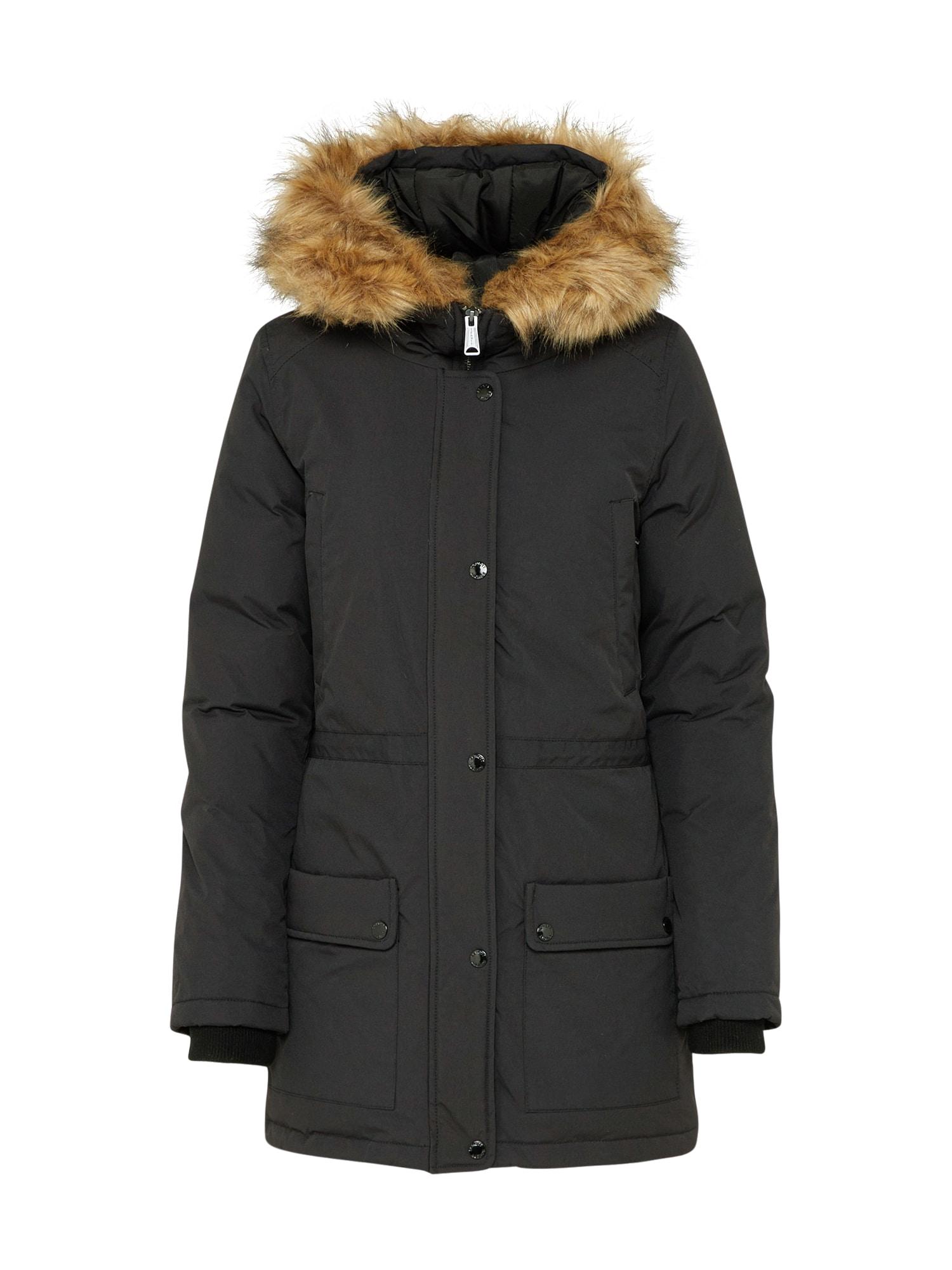 Schott NYC Ilga žieminė striukė 'Lucia' juoda