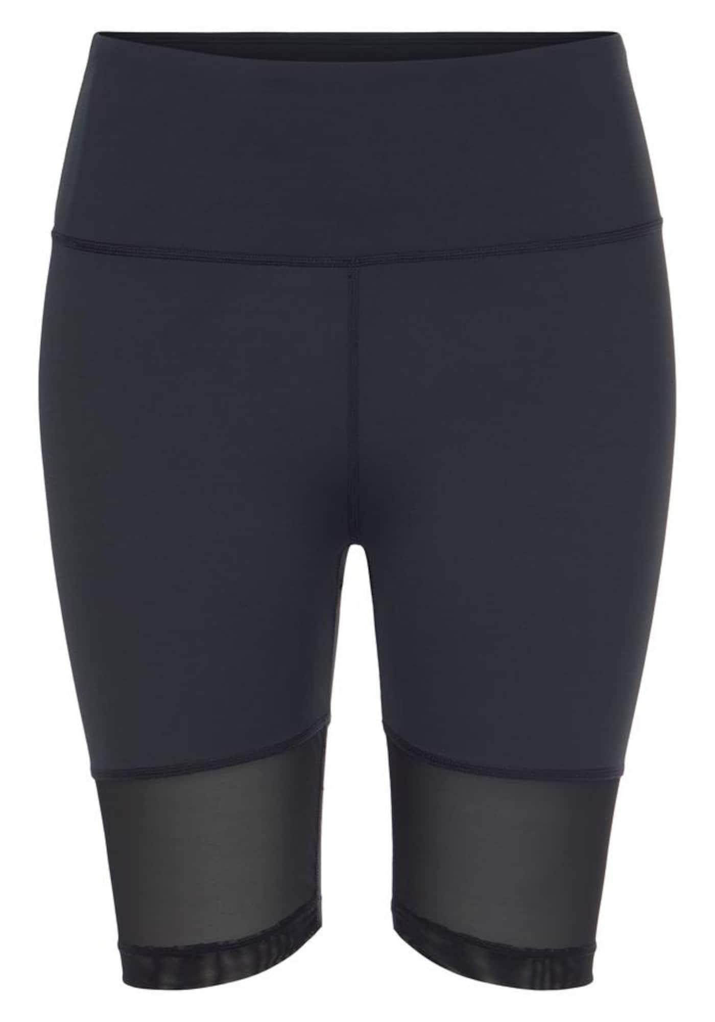 LASCANA ACTIVE Sportinės kelnės tamsiai mėlyna / balta