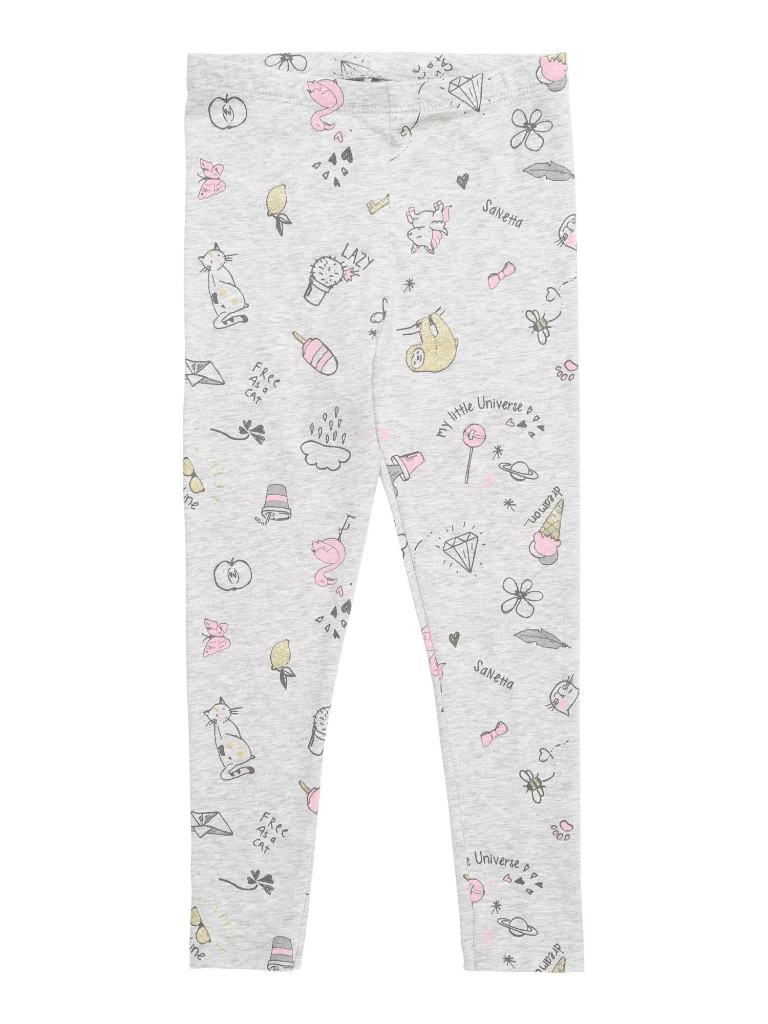 Legíny šedá Sanetta Kidswear