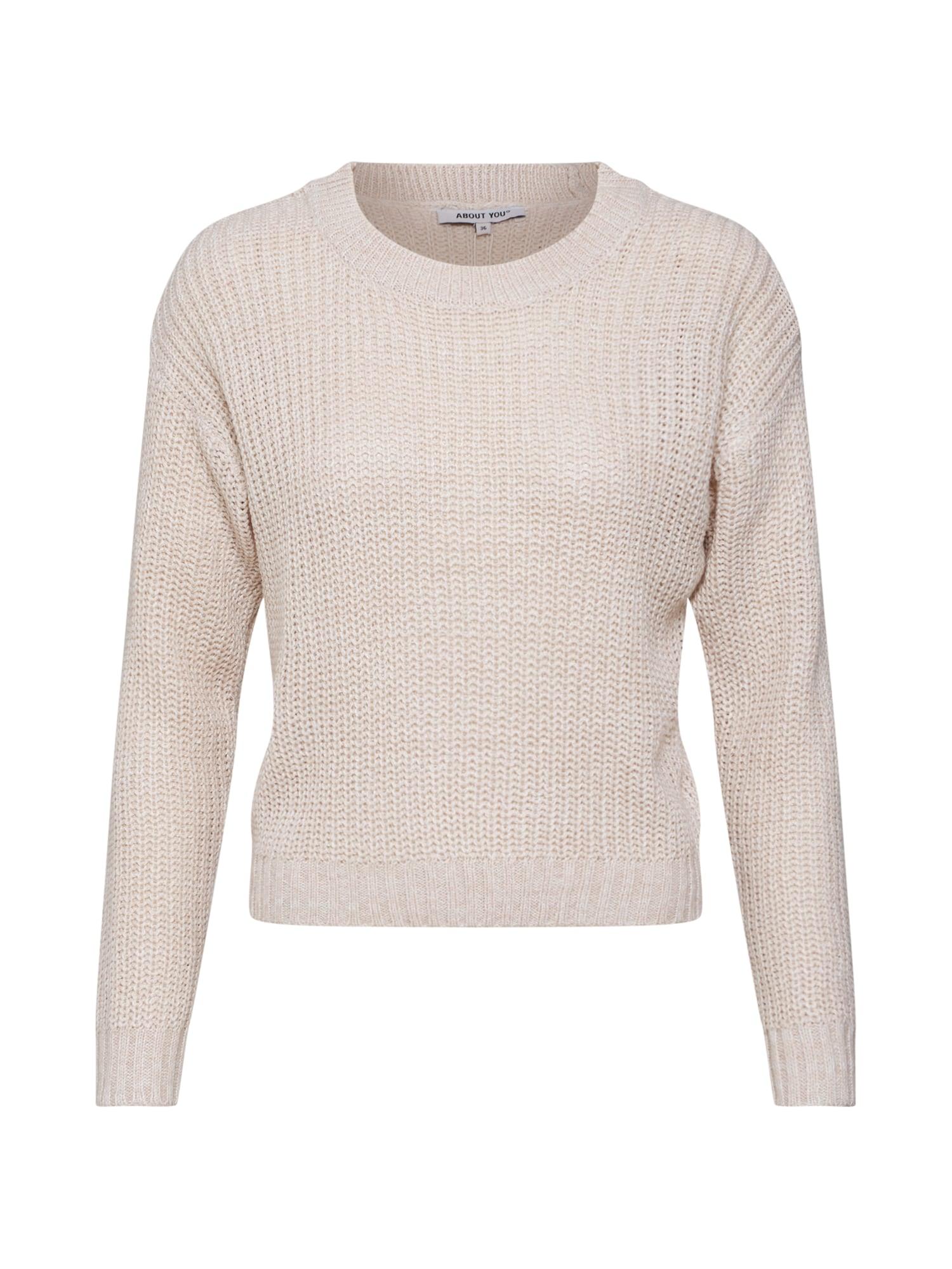 ABOUT YOU Megztinis 'Malina' pudros spalva