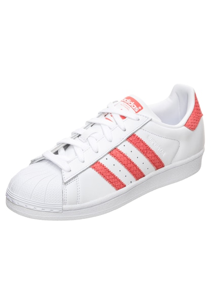 Sneakers für Frauen - ADIDAS ORIGINALS Sneaker 'Superstar' dunkelorange weiß  - Onlineshop ABOUT YOU