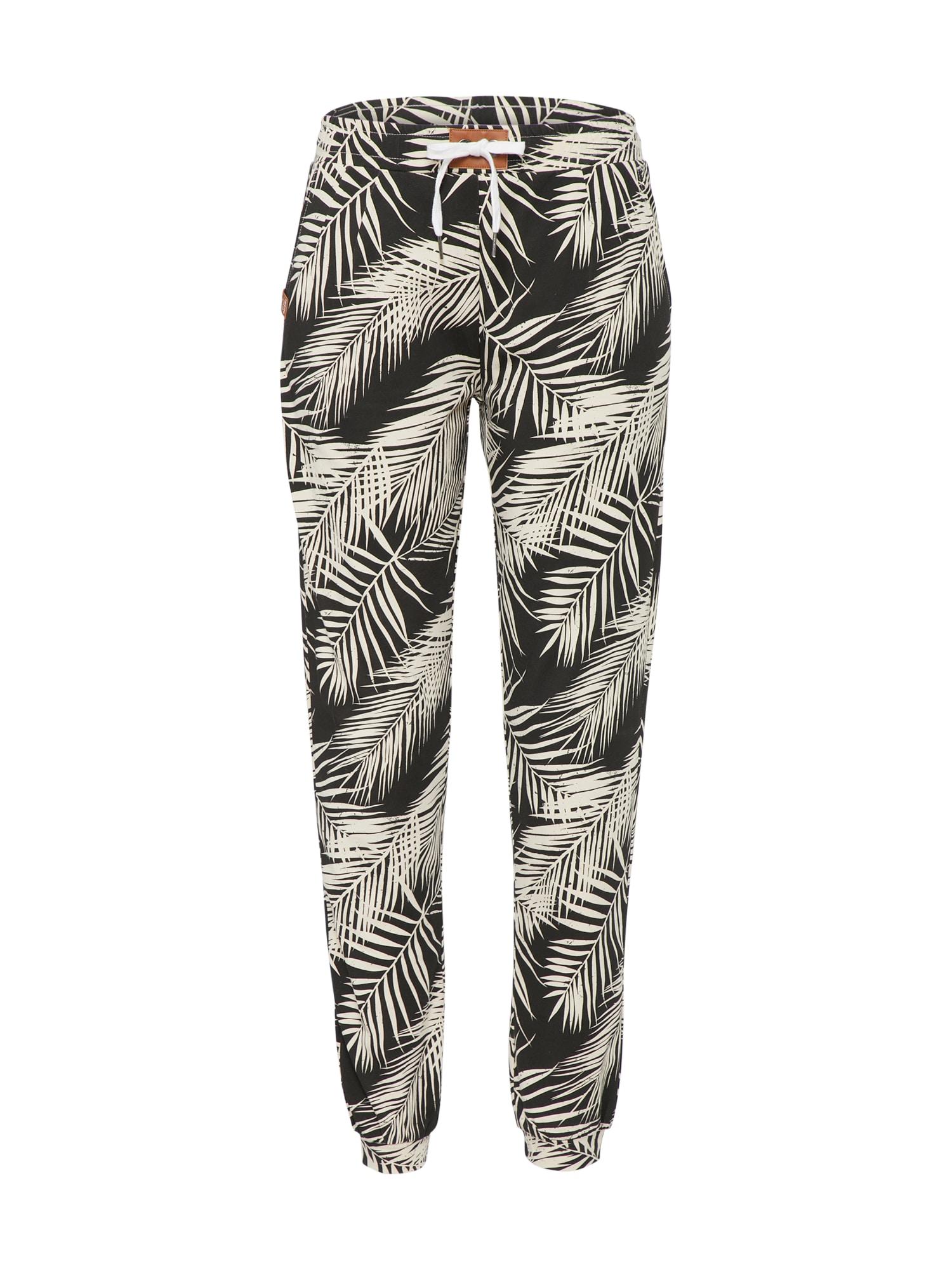 Kalhoty La Palma krémová černá Iriedaily