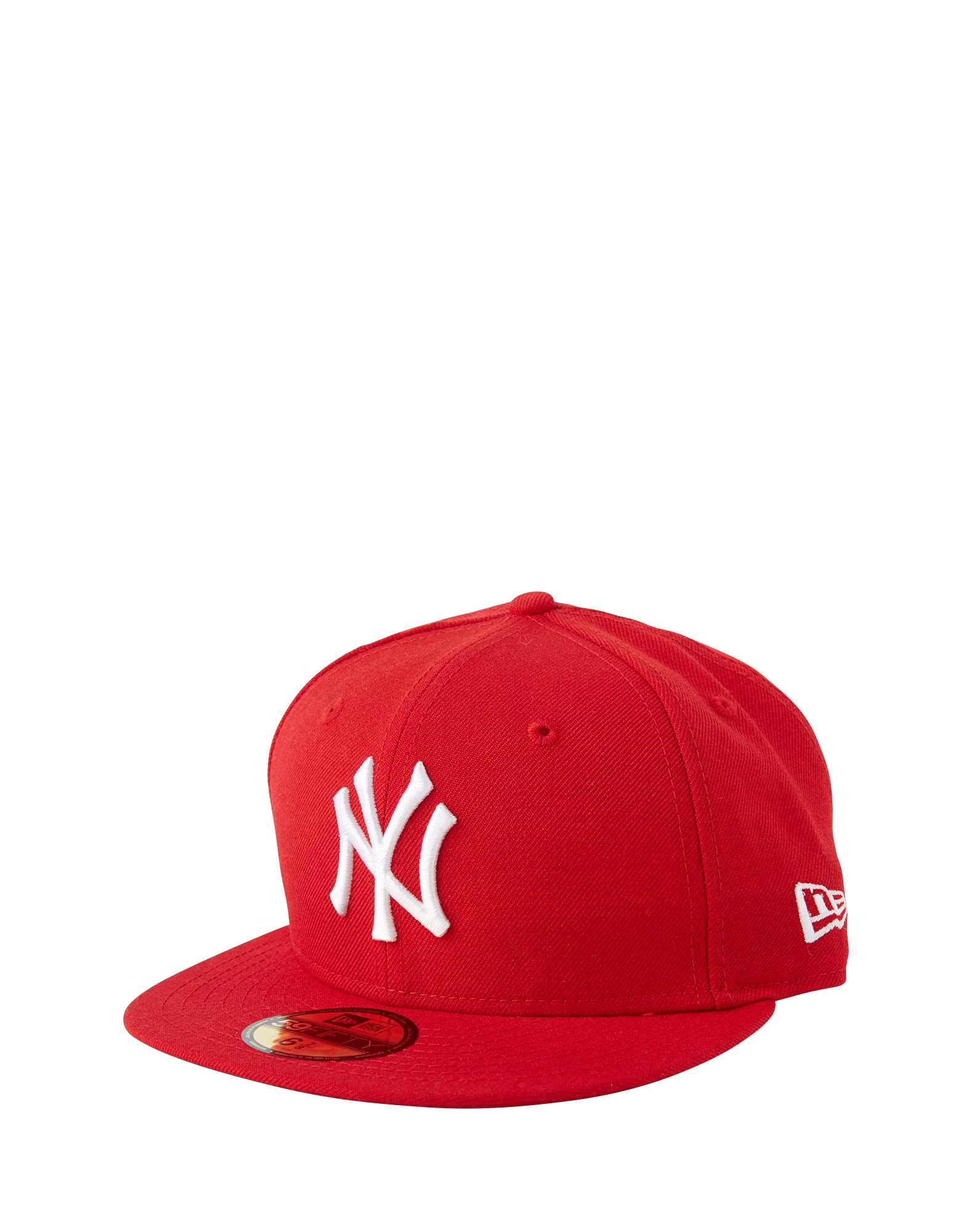 Kšiltovka 59FIFTY MLB Basic New York Yankees červená NEW ERA