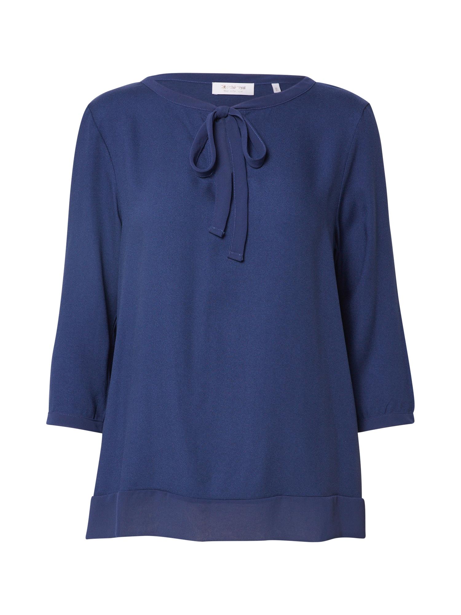 Rich & Royal Marškinėliai tamsiai mėlyna jūros spalva