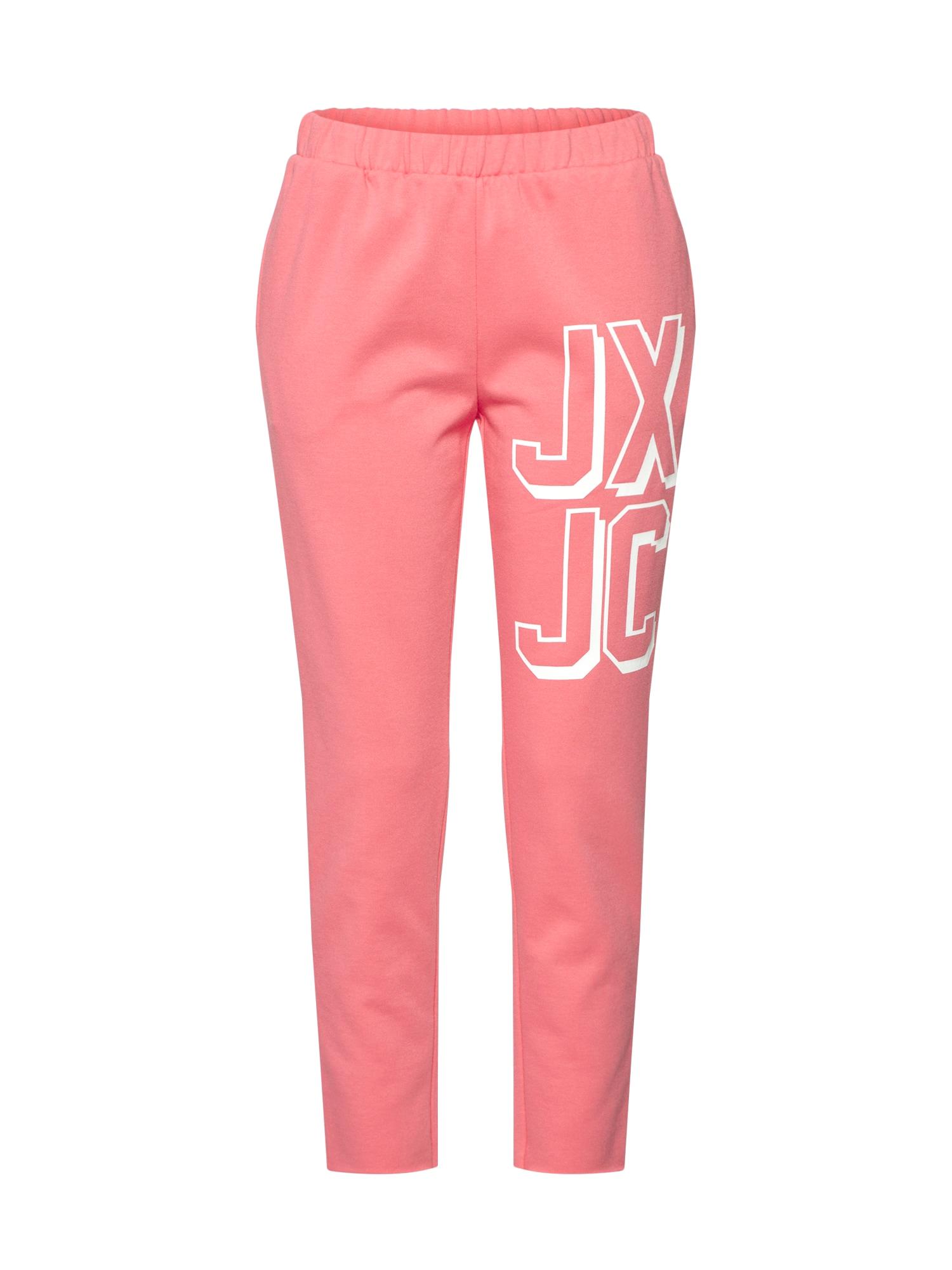 Kalhoty starorůžová bílá Juicy By Juicy Couture