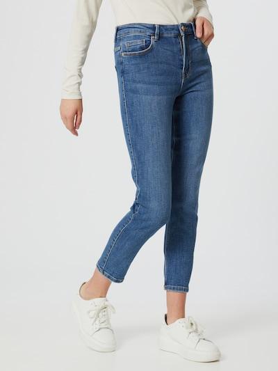 Pieces Lili Eng geschnittene Jeans mit mittelhohem Bund