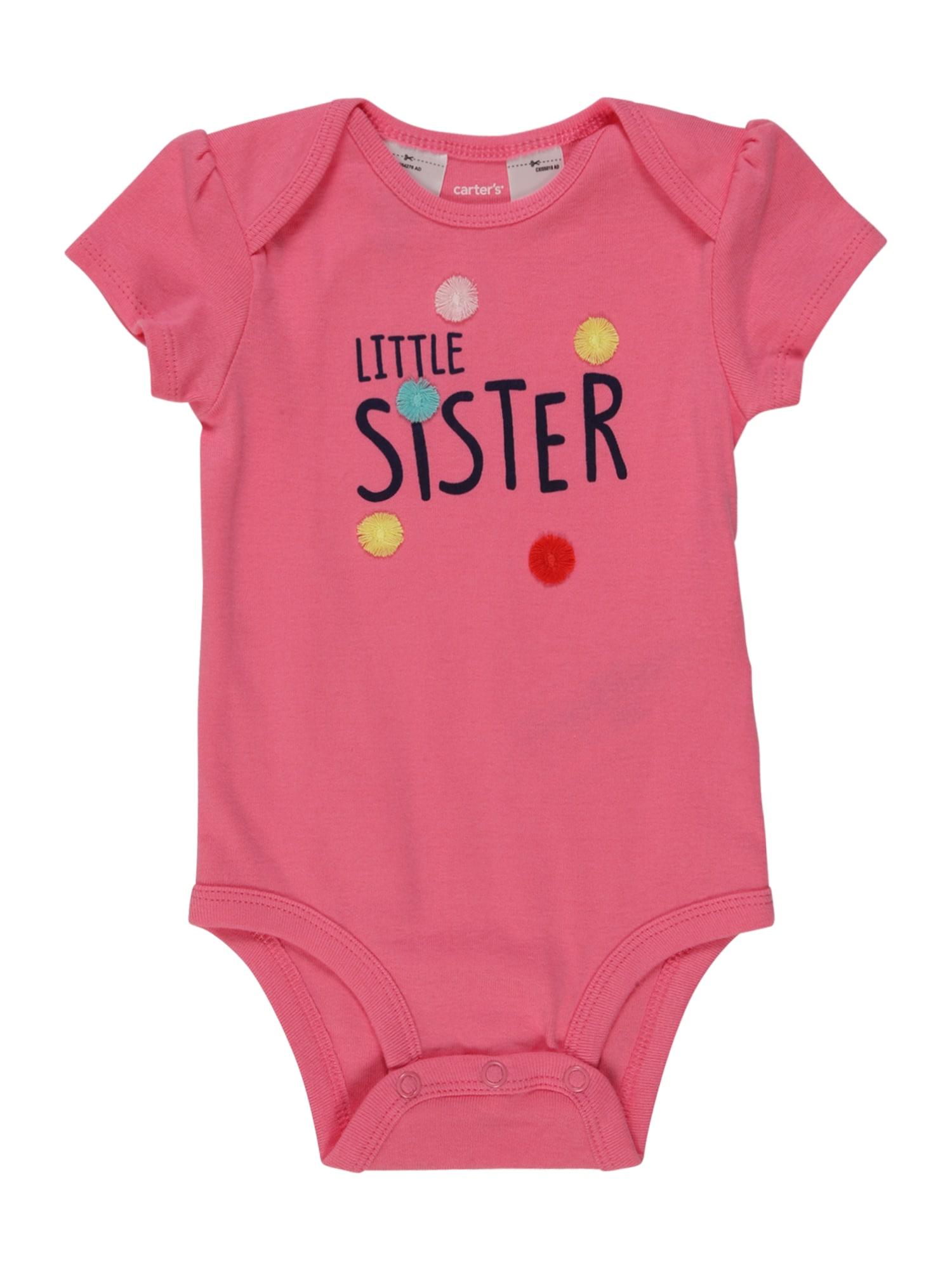 Carter's Šliaužtinukas / glaustinukė 'Little Sister' rožinė