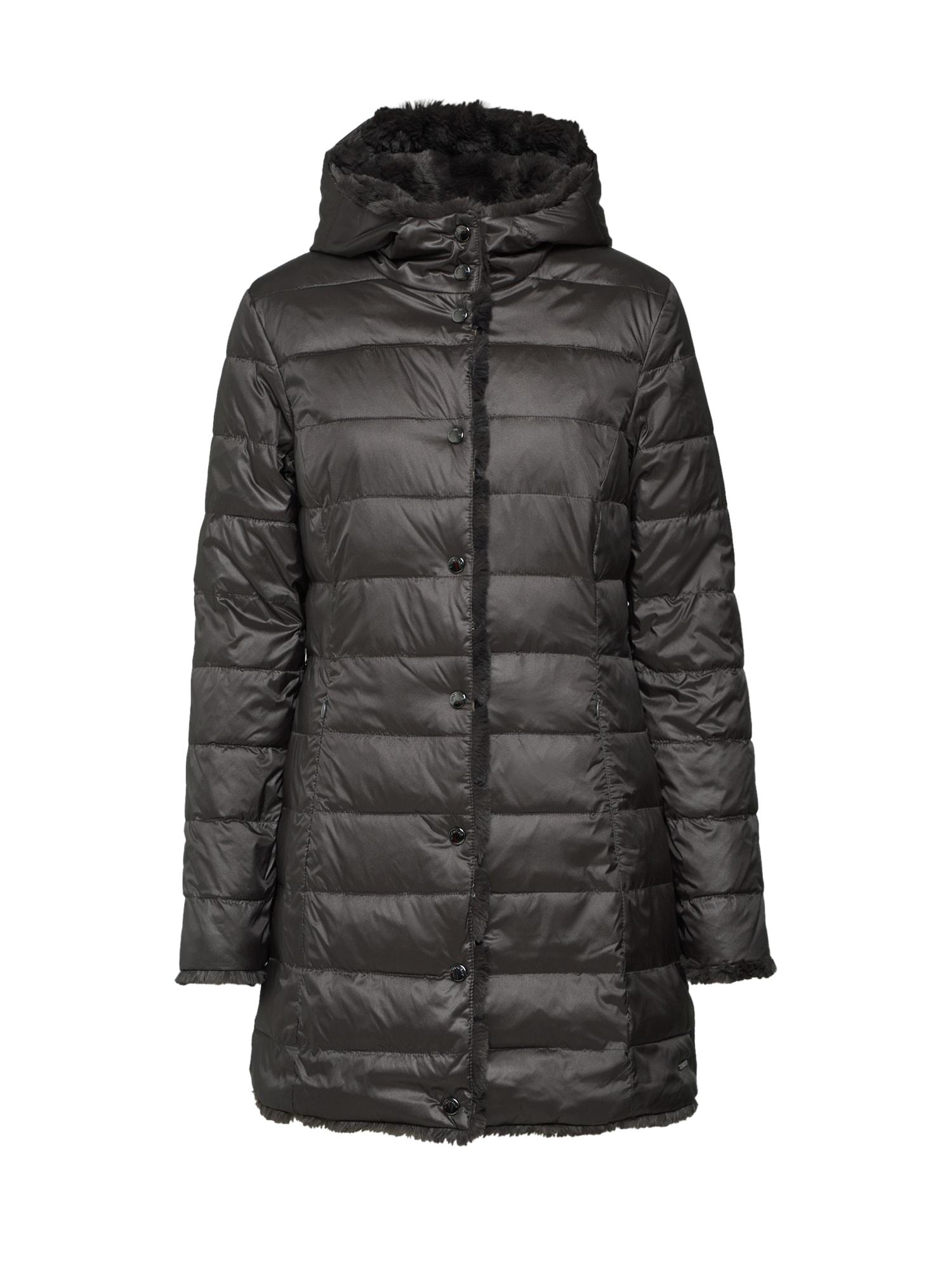 Přechodný kabát šedá RINO & PELLE