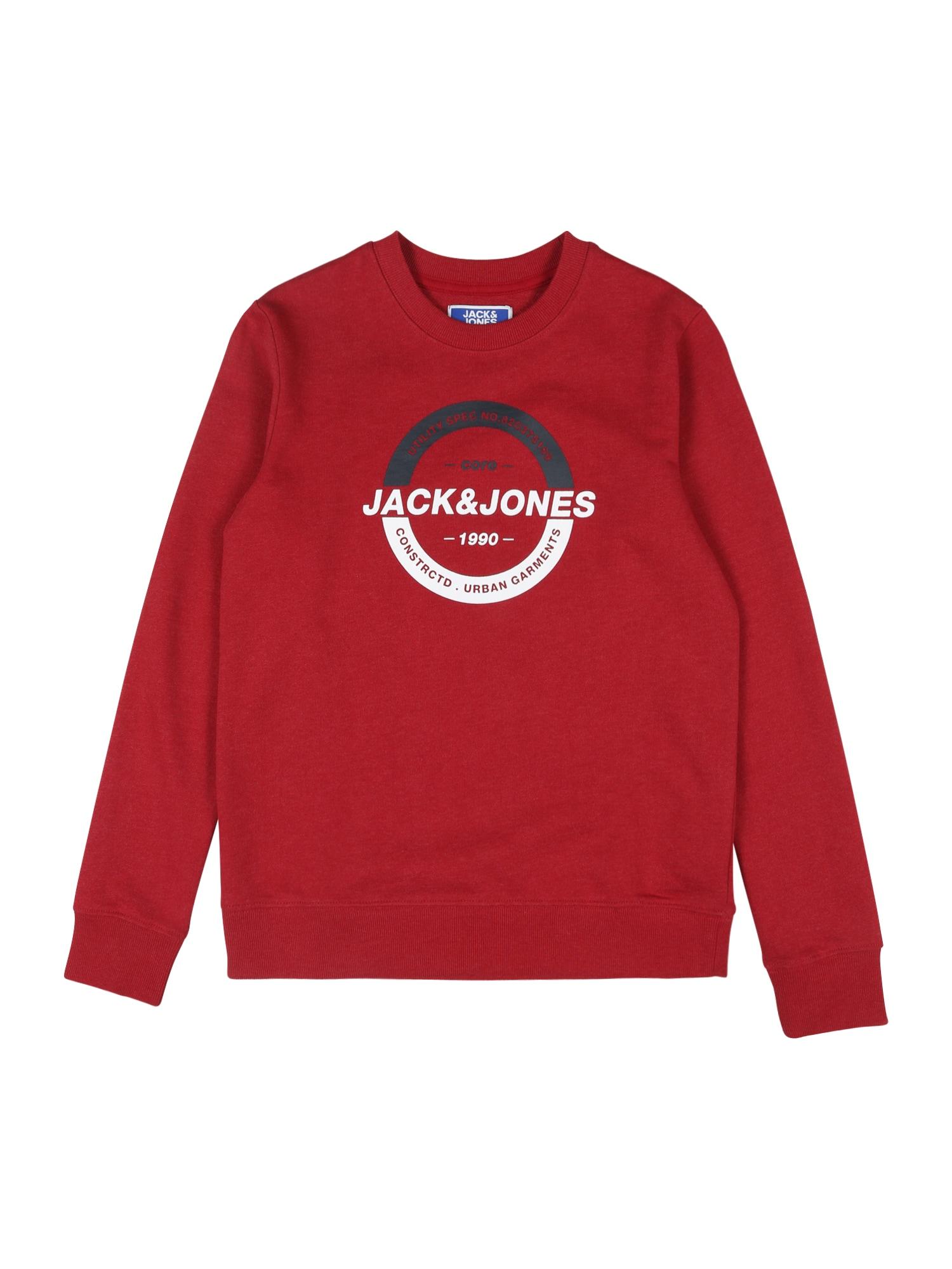 Jack & Jones Junior Megztinis be užsegimo raudona