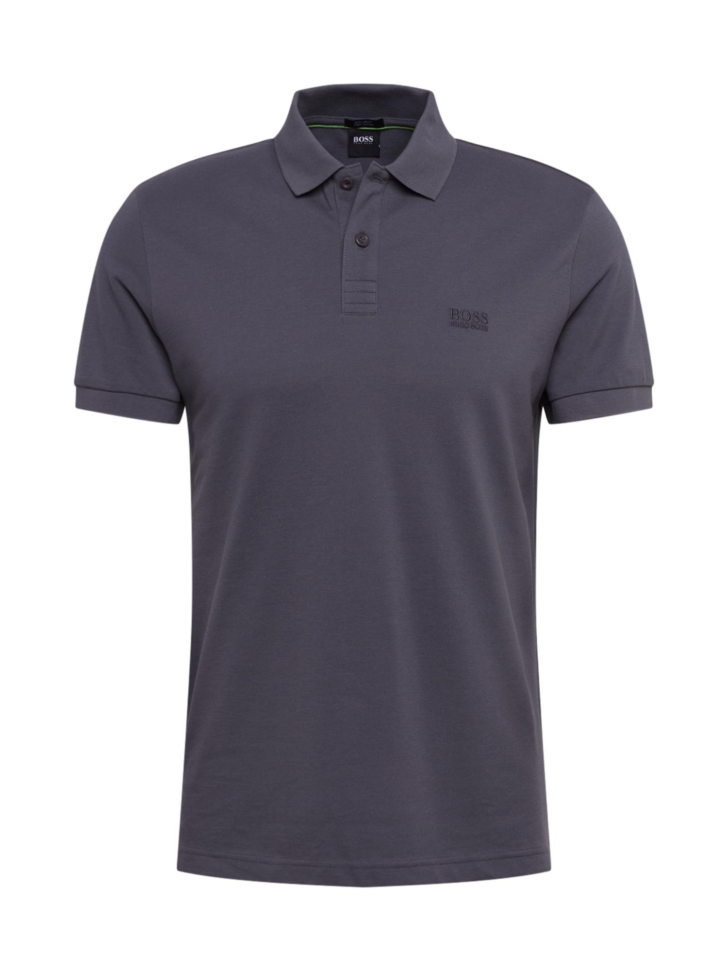 BOSS Marškinėliai 'Piro' tamsiai pilka