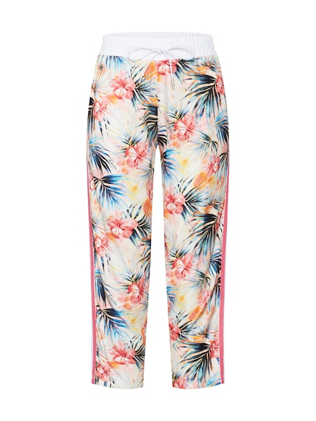 Hosen für Frauen - Hosen 'WOMAN PRINTED VISCOSE TROUSER' › La Martina › pink  - Onlineshop ABOUT YOU