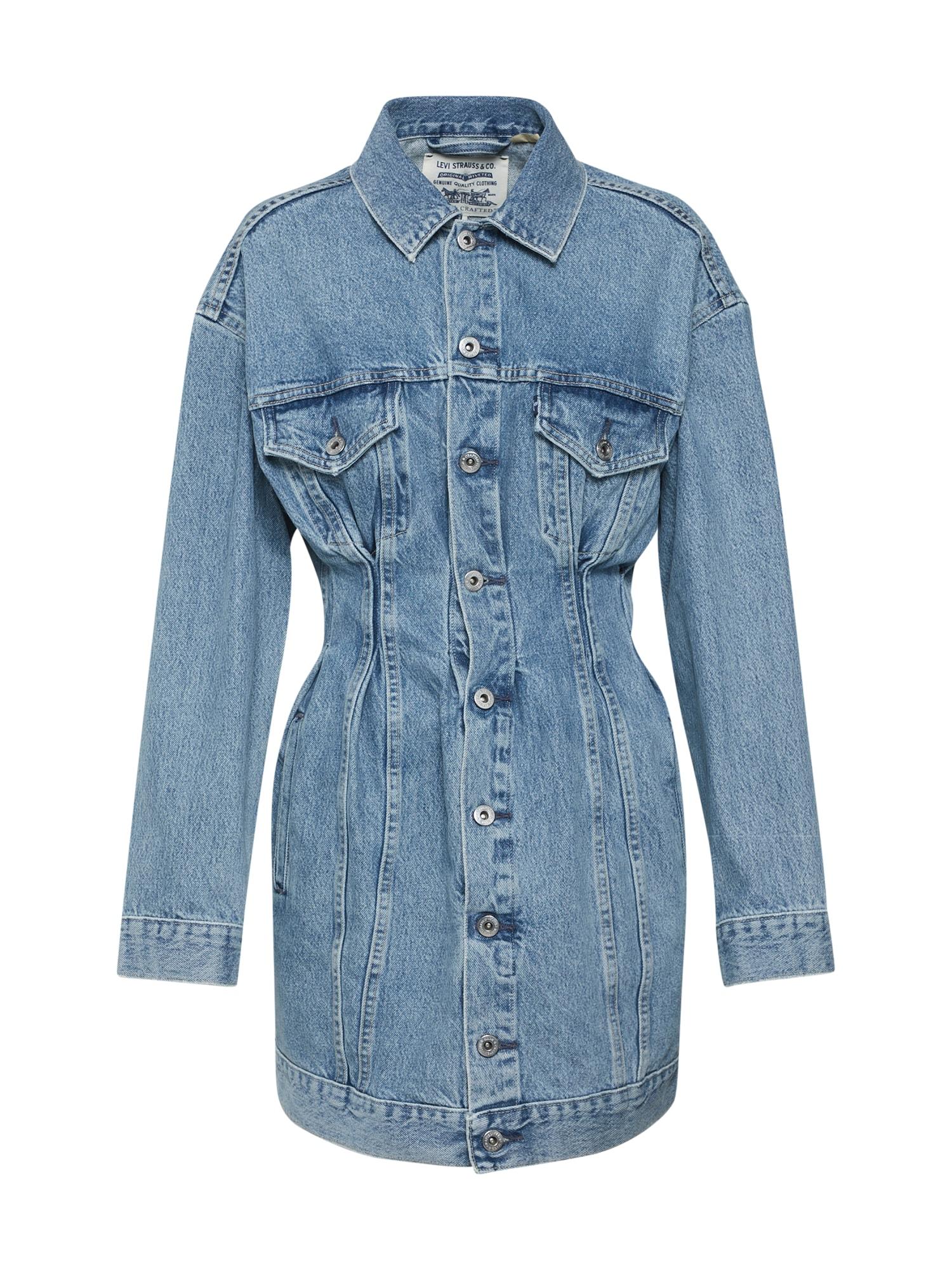 Levis Made & Crafted Šaty modrá džínovina Levi's Made & Crafted