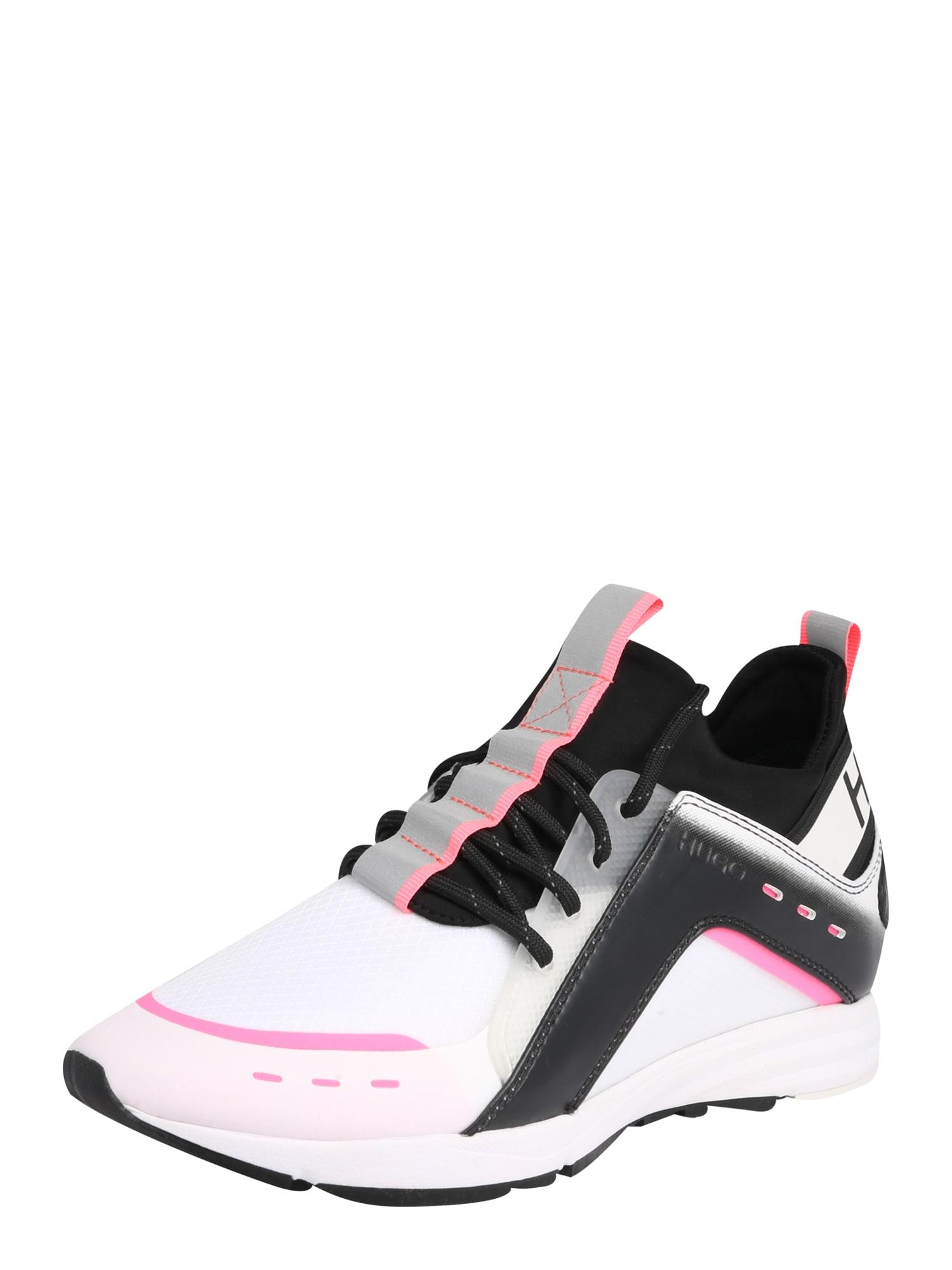 HUGO Tenisky 'Hybrid'  černá / bílá / pink