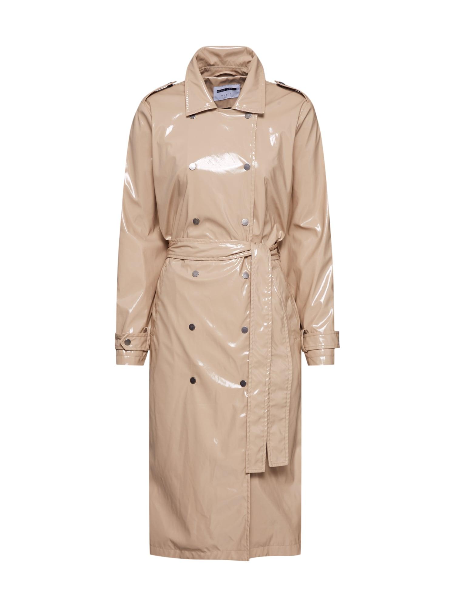 Noisy may Rudeninis-žieminis paltas 'JENNA' kremo / smėlio